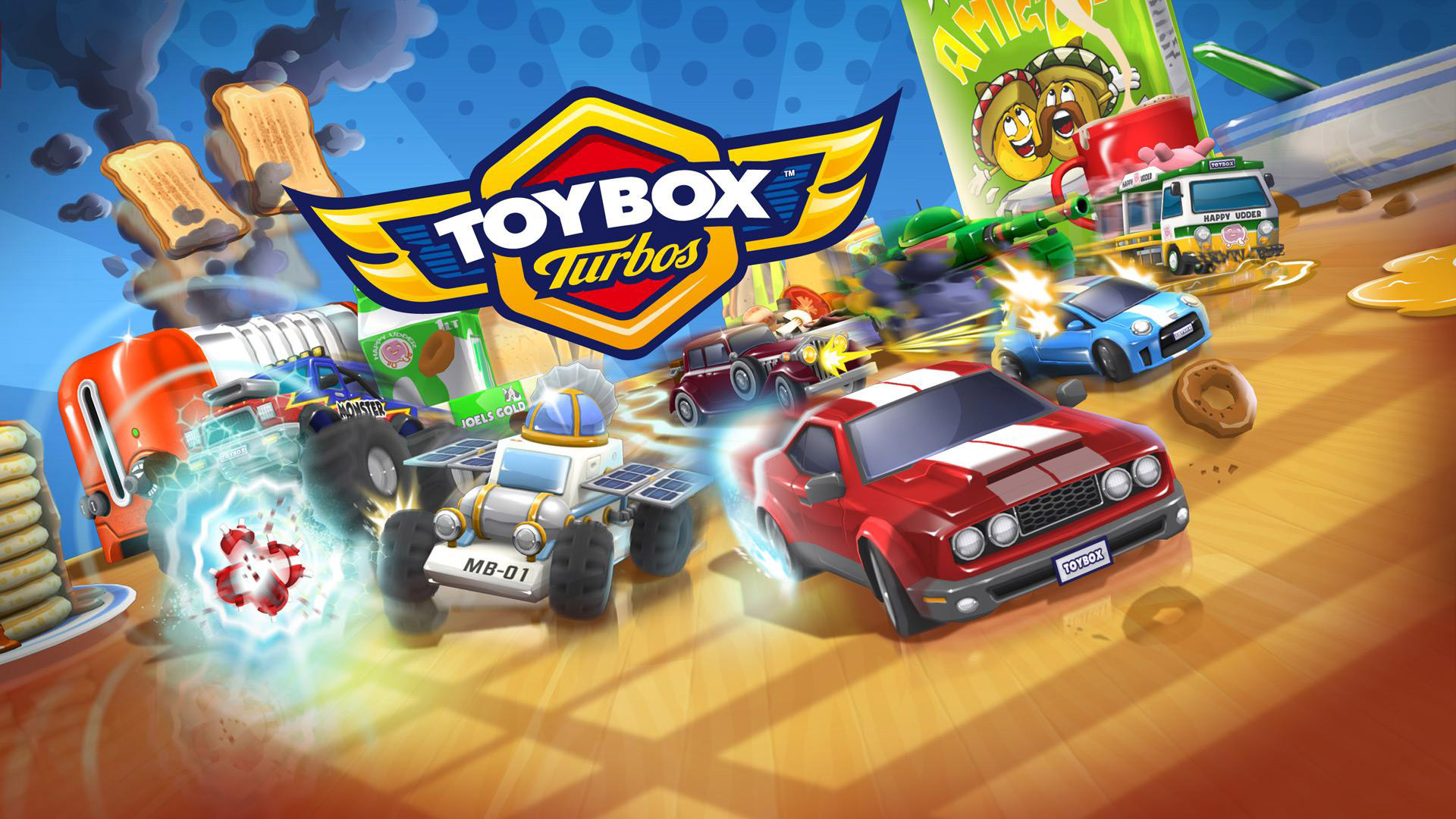 Toybox Turbos Wallpaper in 1920x1080