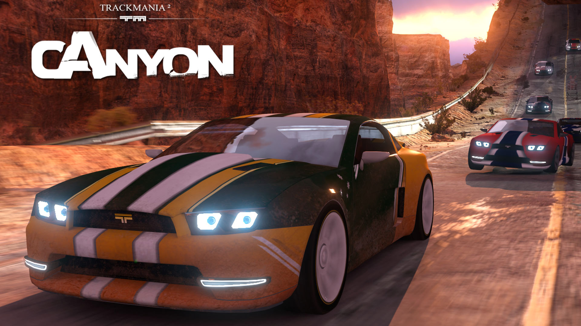 Free TrackMania 2: Canyon Wallpaper in 1920x1080