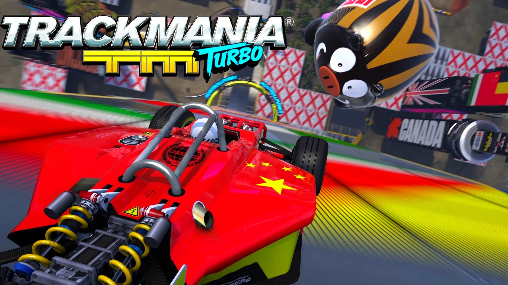 Trackmania Turbo Wallpaper in 1920x1080