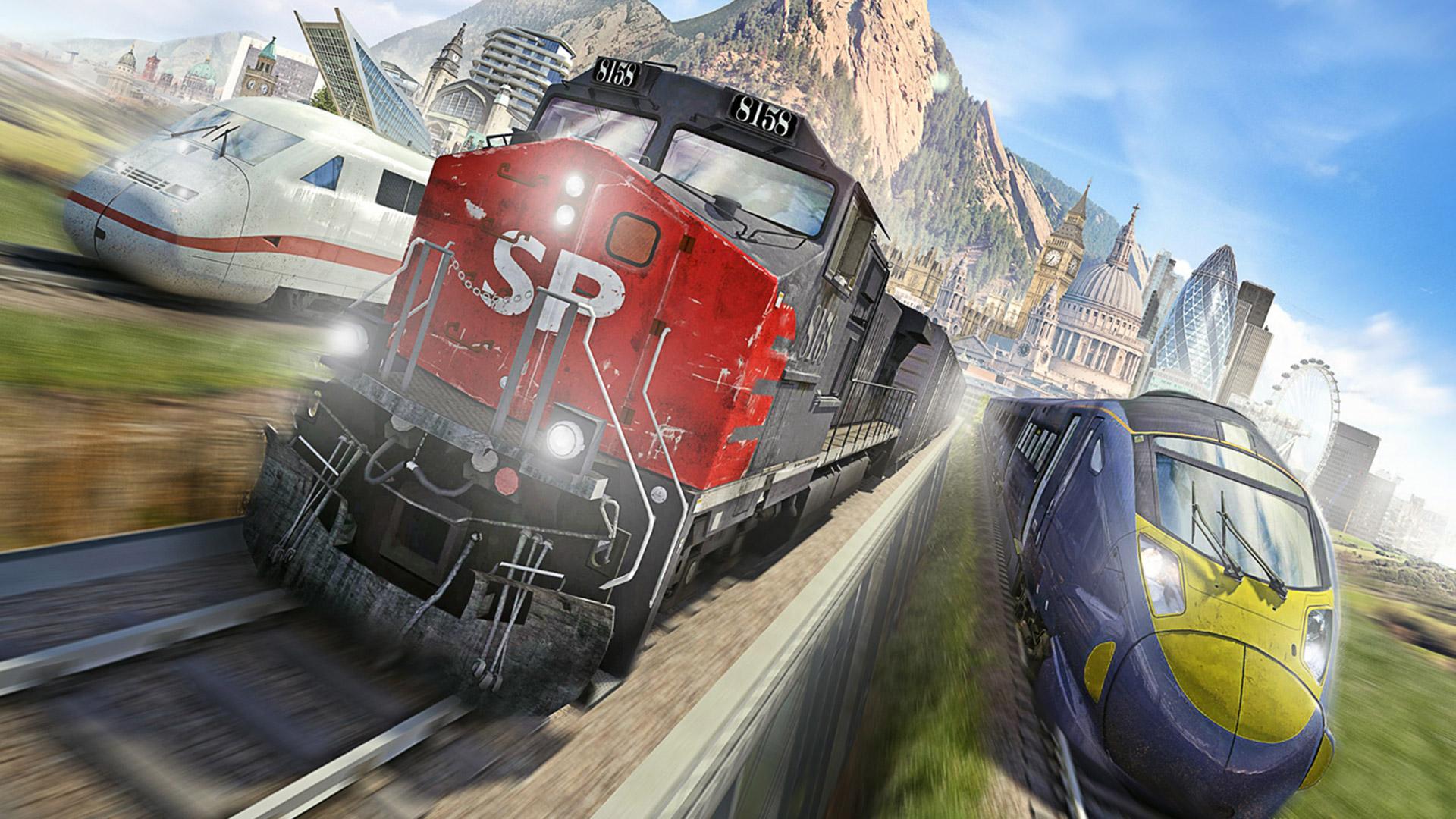 Free Train Simulator 2014 Wallpaper in 1920x1080