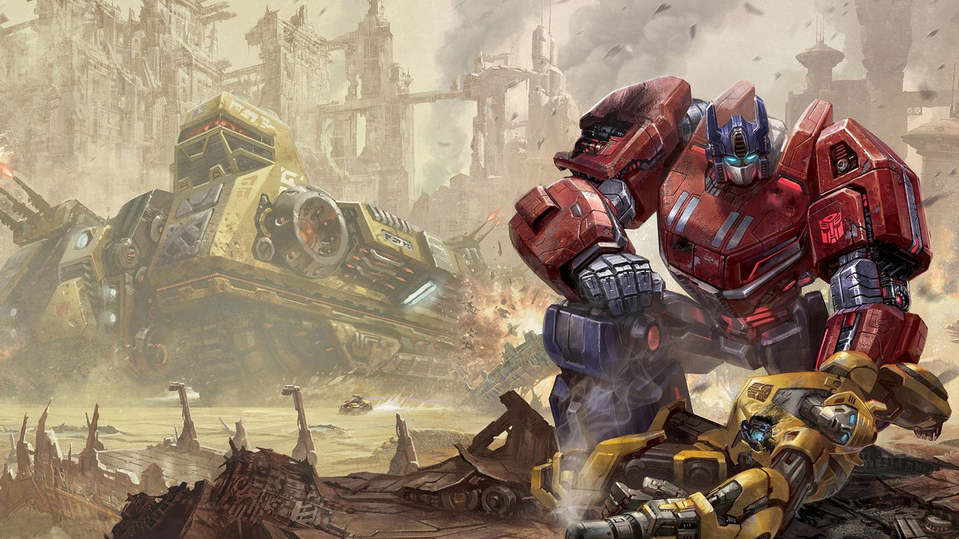 Free Transformers: Fall of Cybertron Wallpaper in 1920x1080