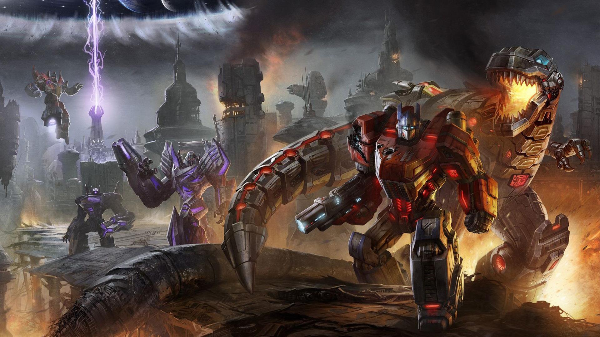 Transformers: Fall of Cybertron Wallpaper in 1920x1080