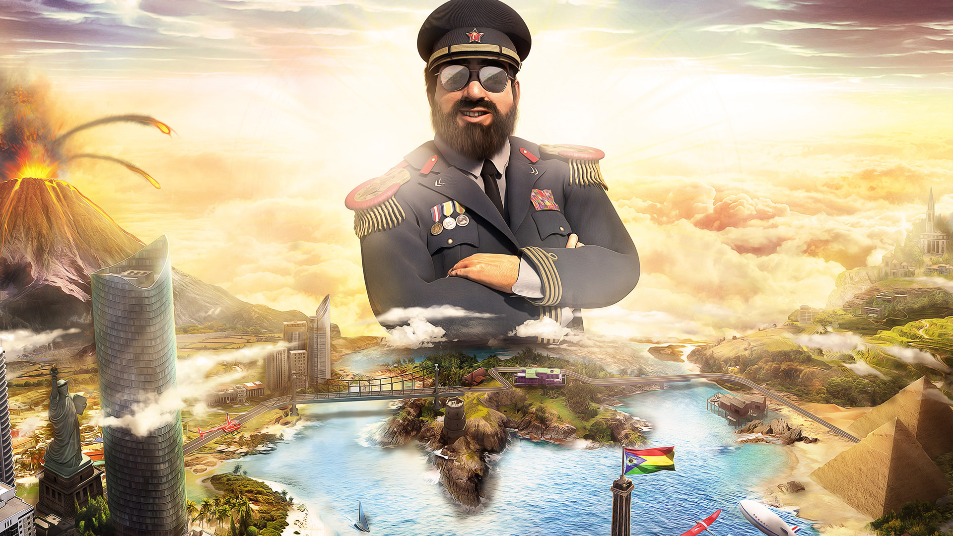 Free Tropico 6 Wallpaper in 1920x1080
