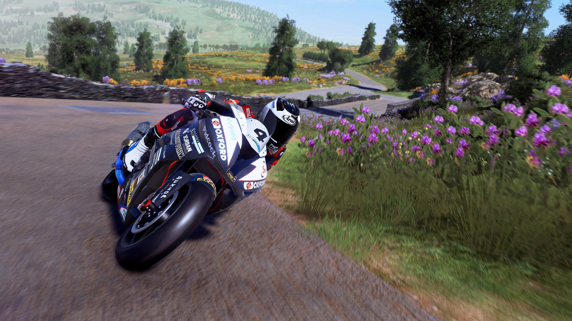 Free TT Isle of Man: Ride on the Edge 2 Wallpaper in 1920x1080