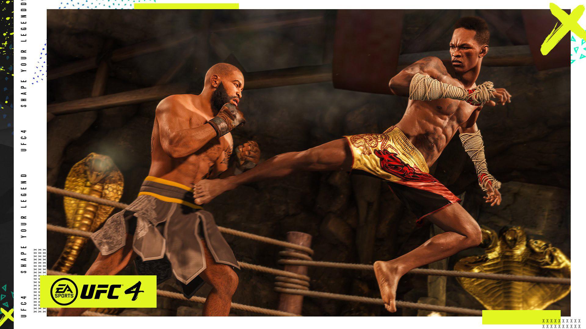 Free UFC 4 Wallpaper in 1920x1080