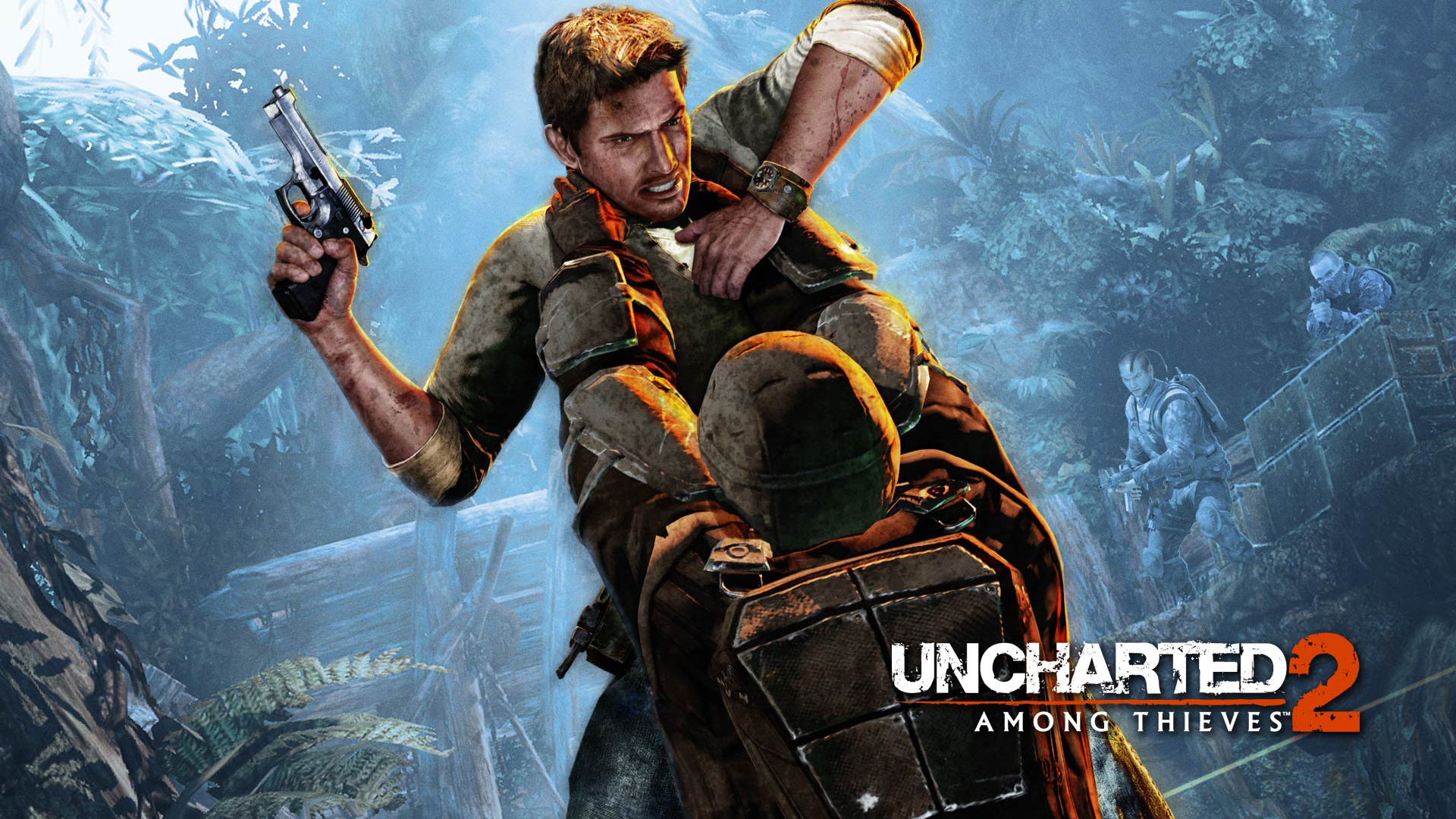 Free Uncharted 2: Among Thieves Wallpaper in 1920x1080