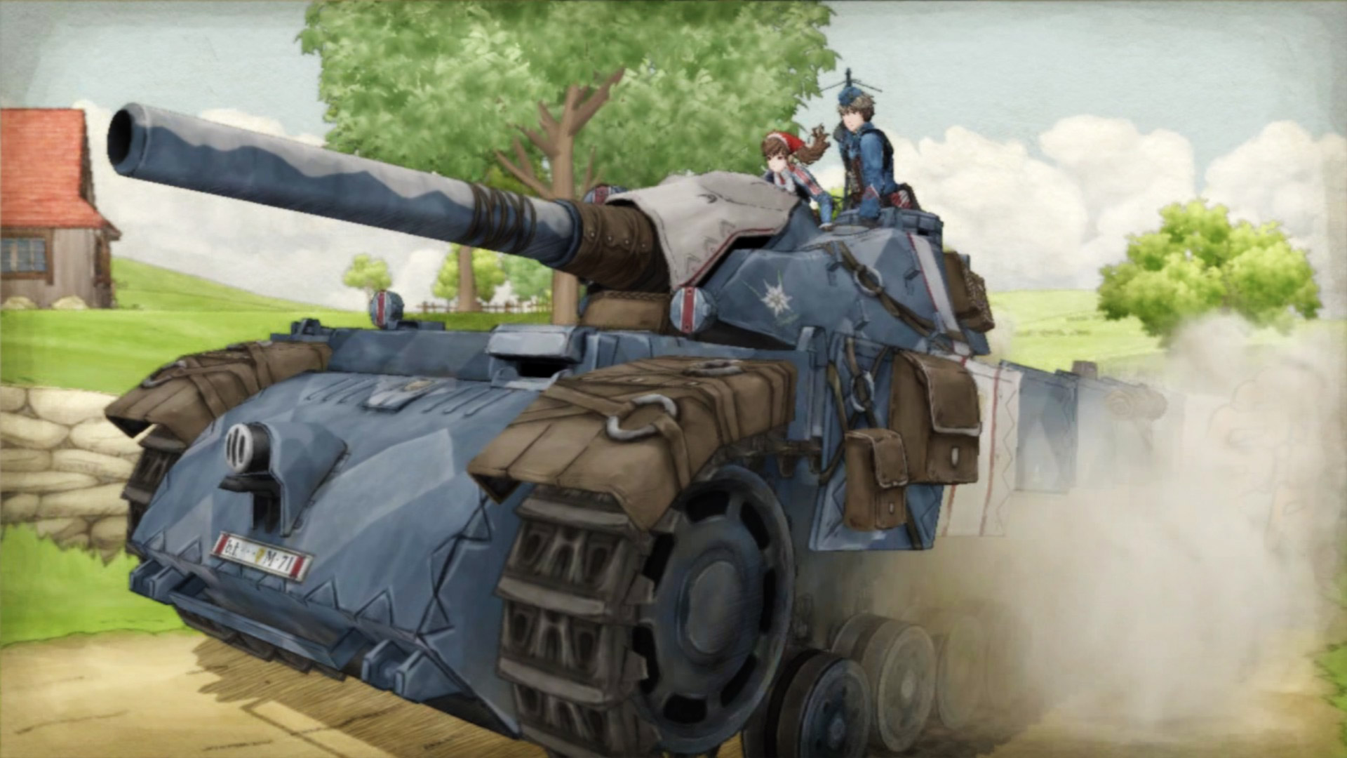 Free Valkyria Chronicles Wallpaper in 1920x1080