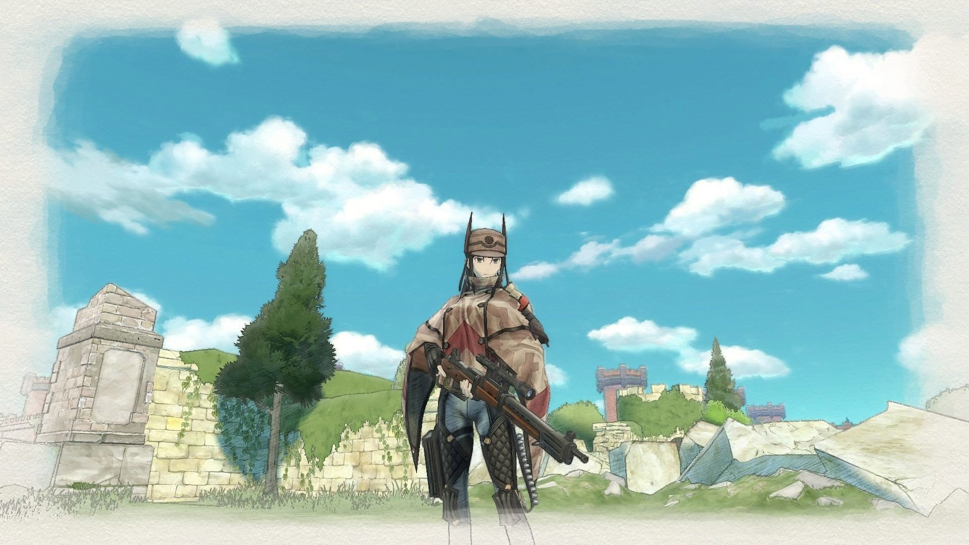 Valkyria Chronicles 4 Wallpaper in 1920x1080