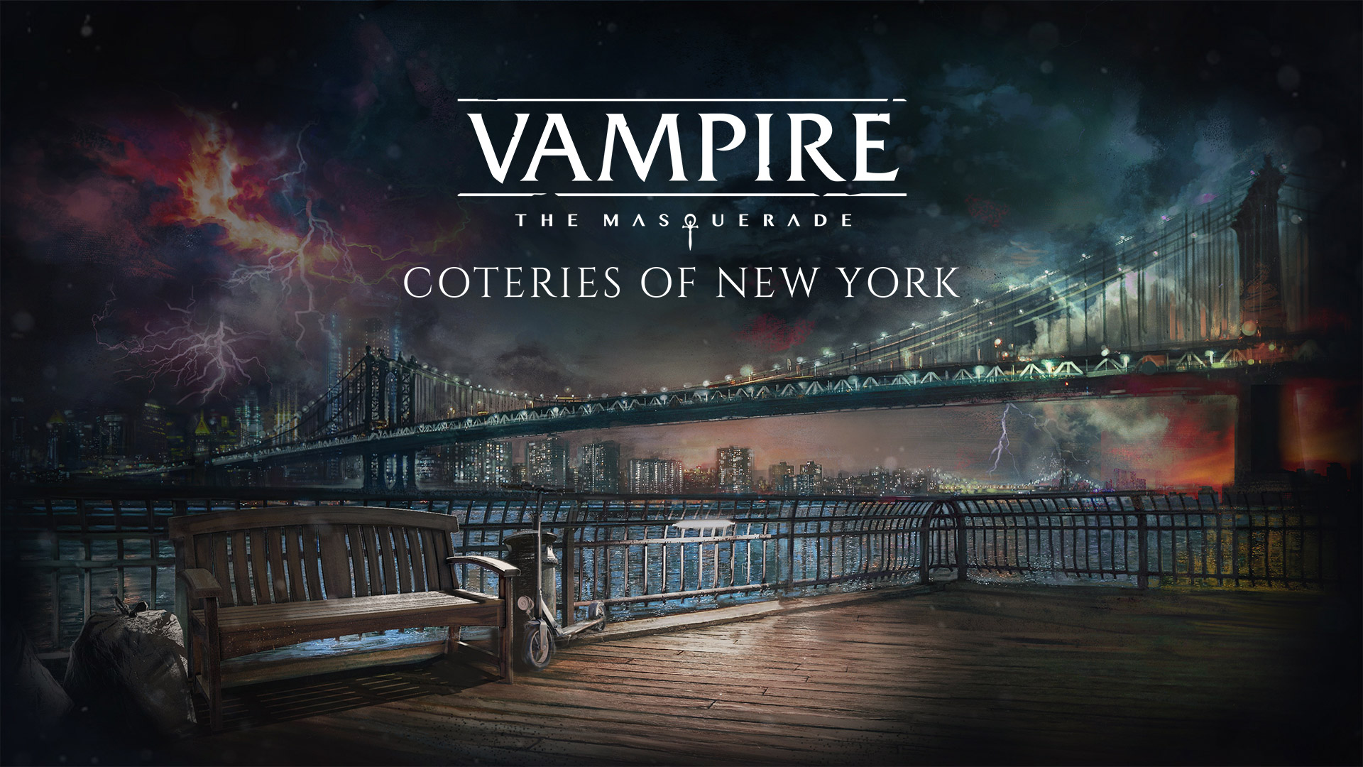 Vampire: The Masquerade - Coteries of New York Wallpaper in 1920x1080