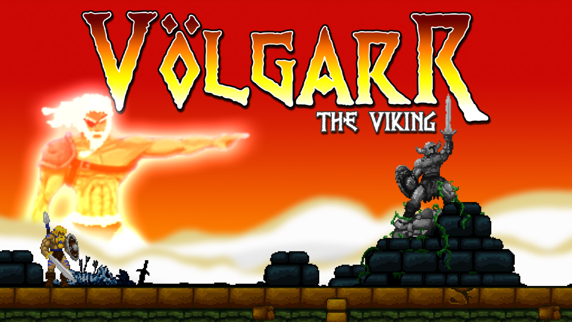 Volgarr the Viking Wallpaper in 1920x1080