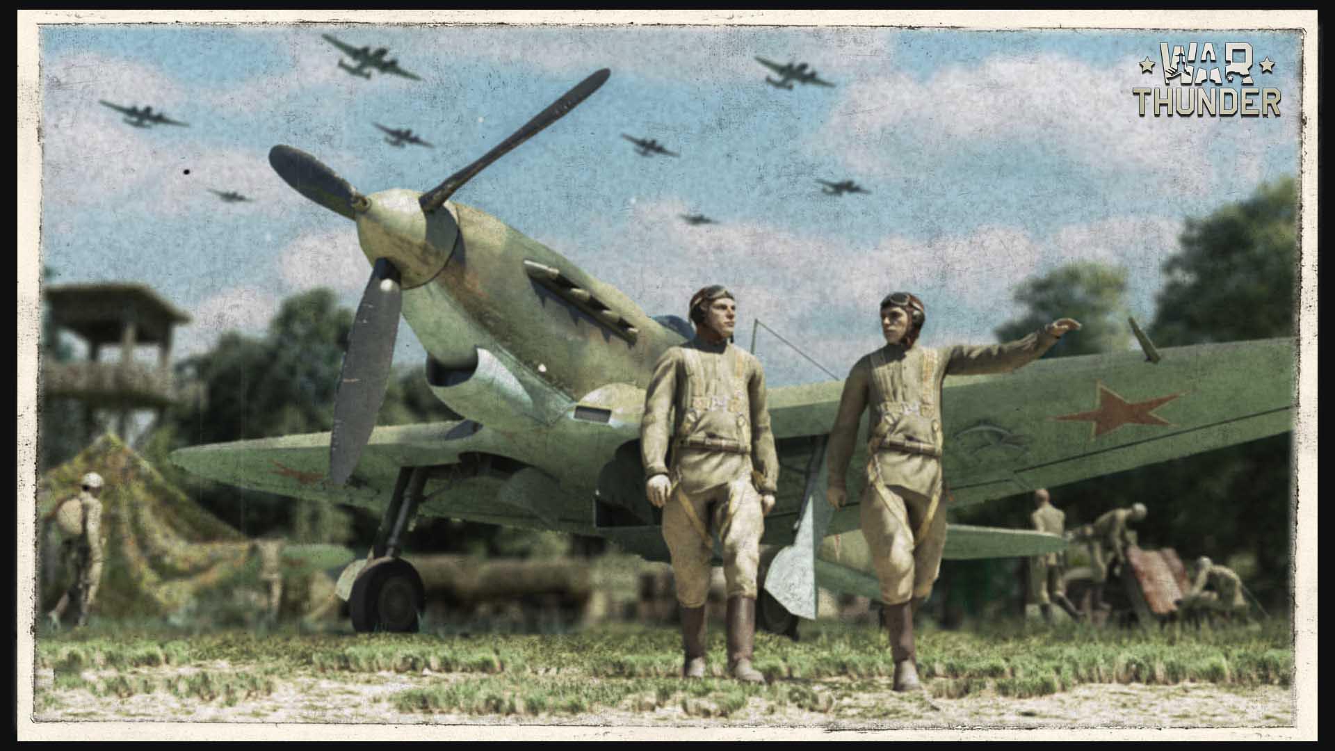 Free War Thunder Wallpaper in 1920x1080