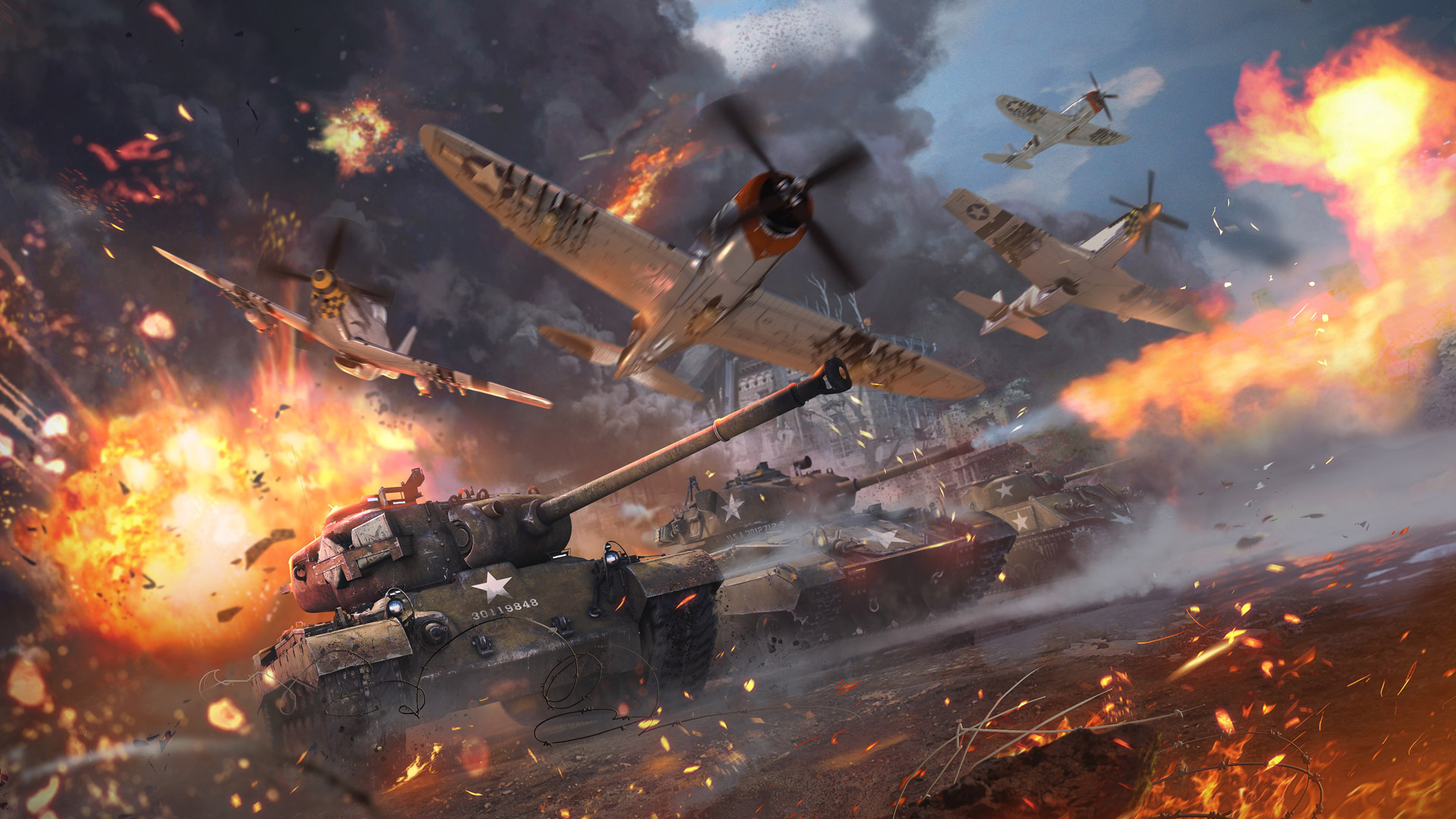 War Thunder Wallpaper in 1920x1080