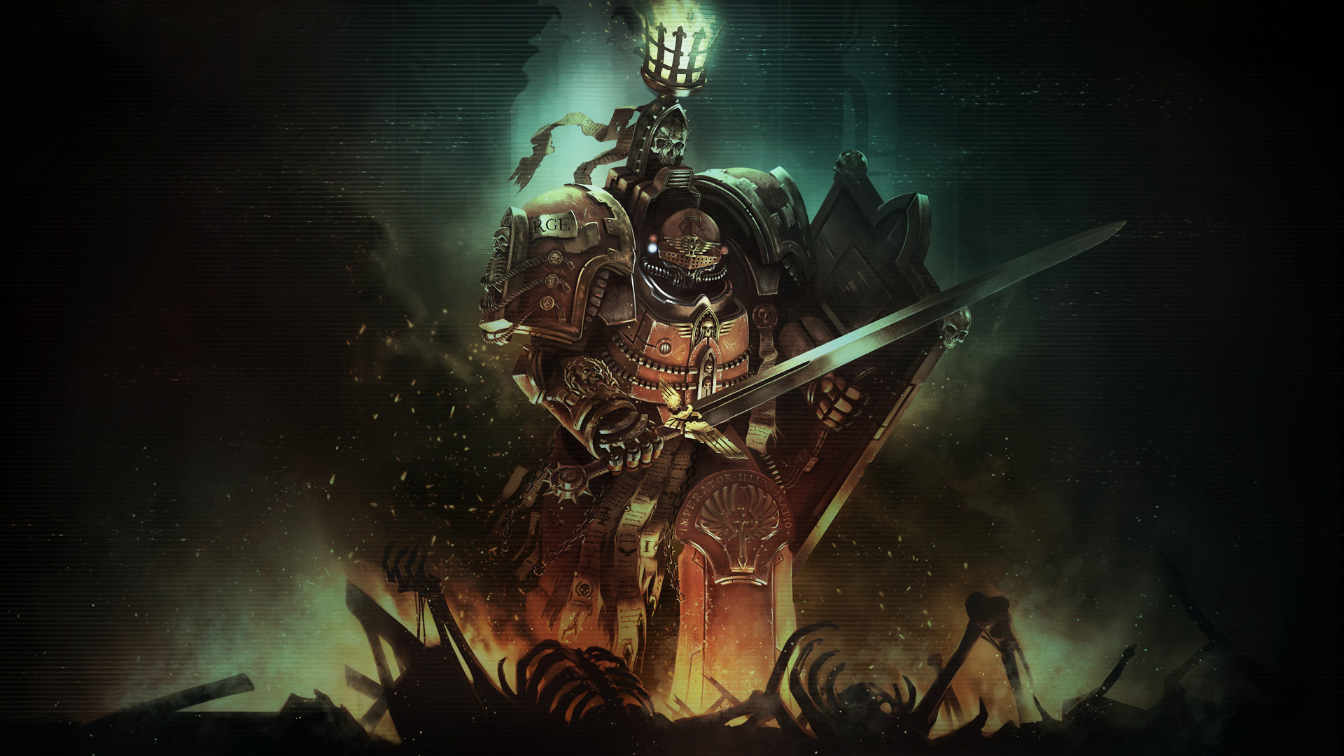 Free Warhammer 40,000: Inquisitor - Martyr Wallpaper in 1920x1080