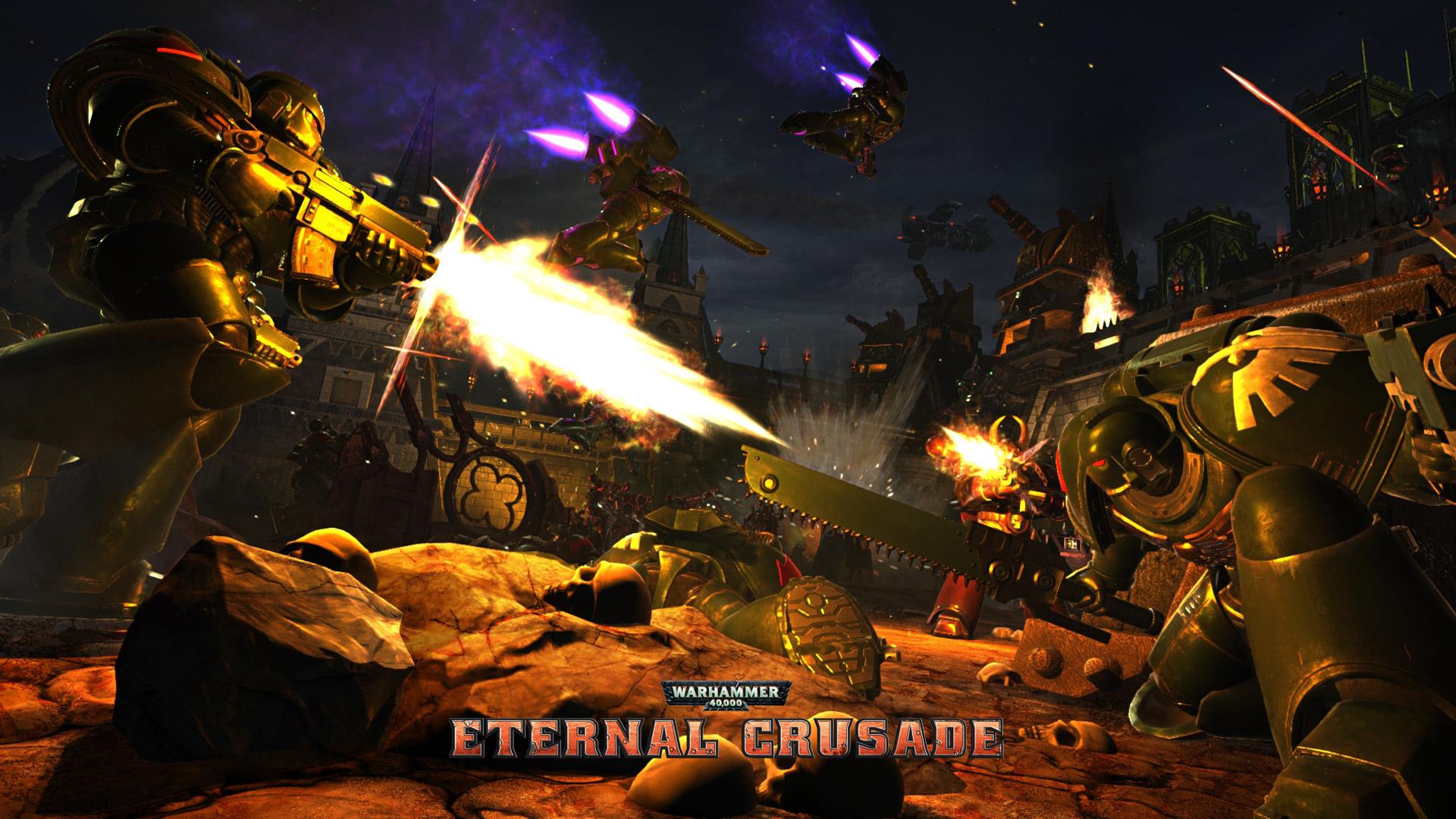 Free Warhammer 40,000: Eternal Crusade Wallpaper in 1920x1080