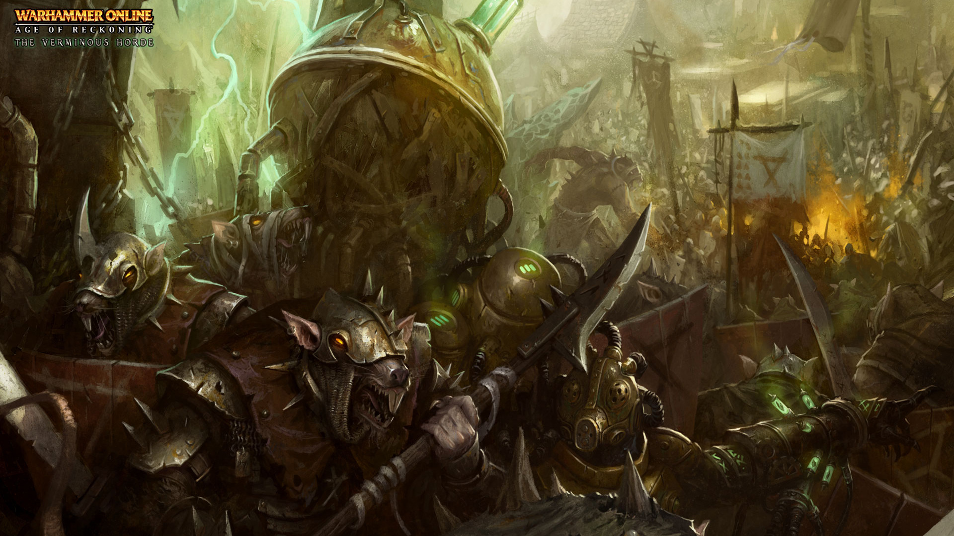 Free Warhammer Online: Age of Reckoning Wallpaper in 1920x1080