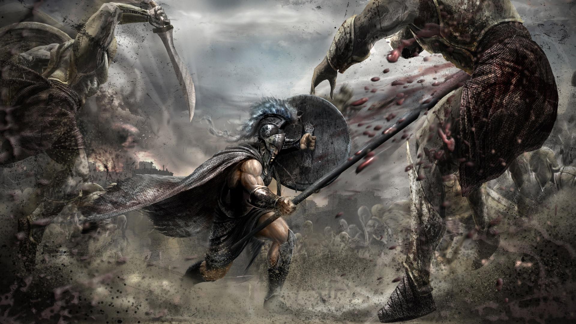 Warriors: Legends of Troy Wallpaper in 1920x1080