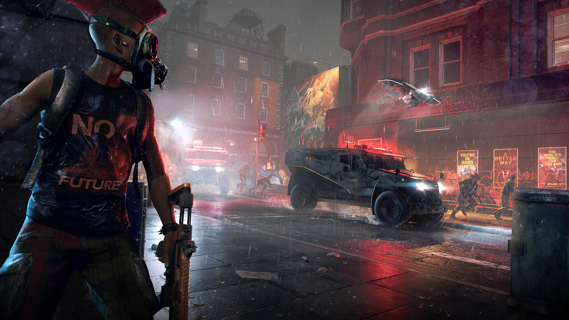 Watch Dogs Legion Wallpaper in 1920x1080