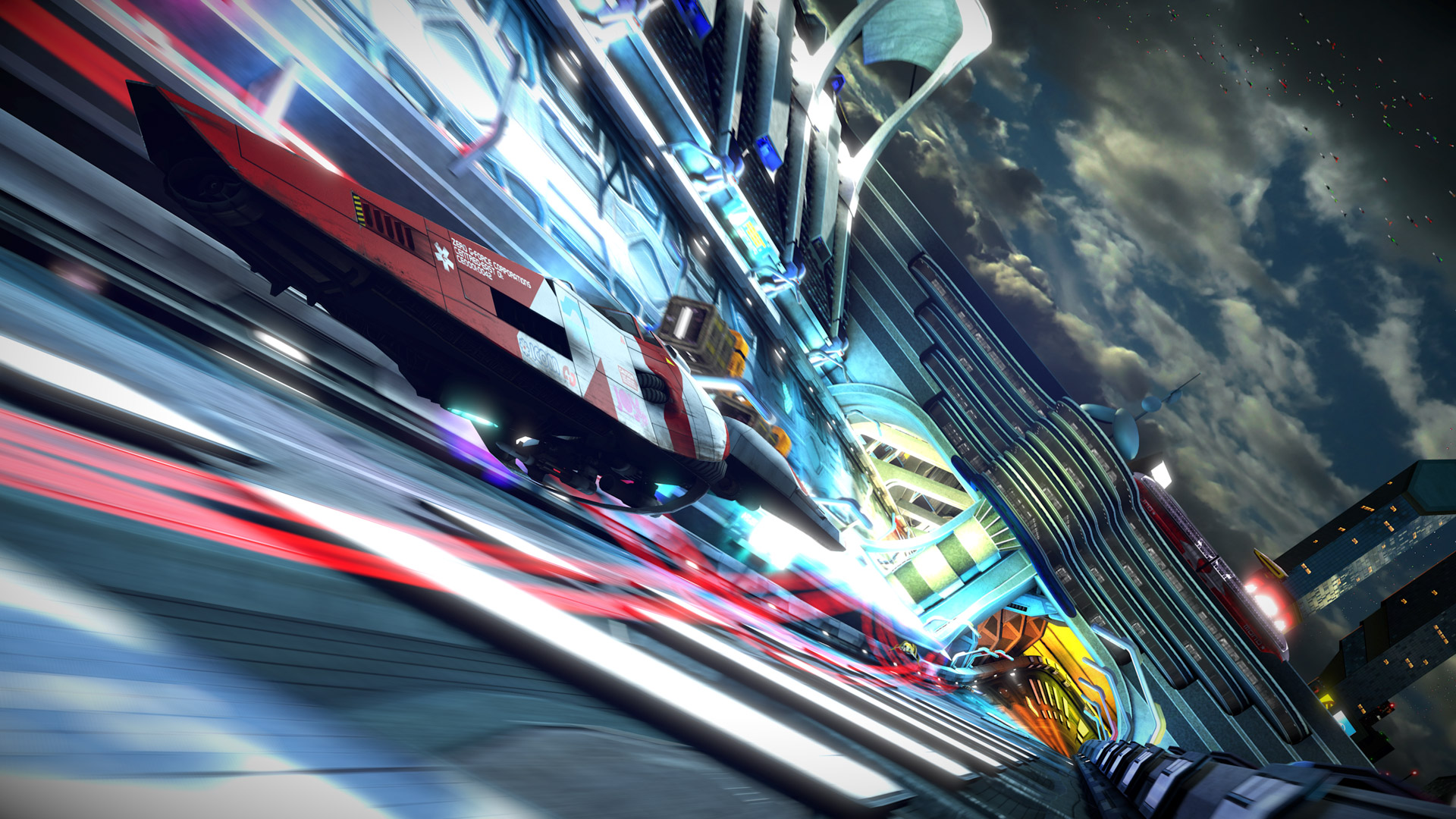 Free Wipeout HD Wallpaper in 1920x1080