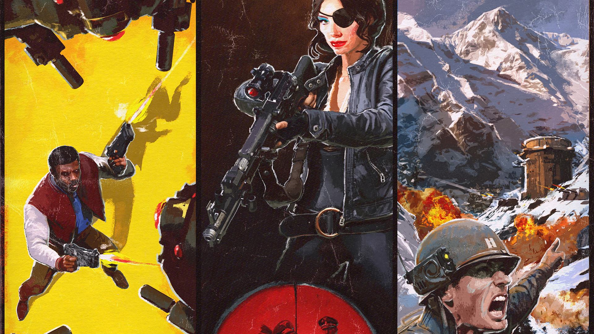 Free Wolfenstein II: The New Colossus Wallpaper in 1920x1080