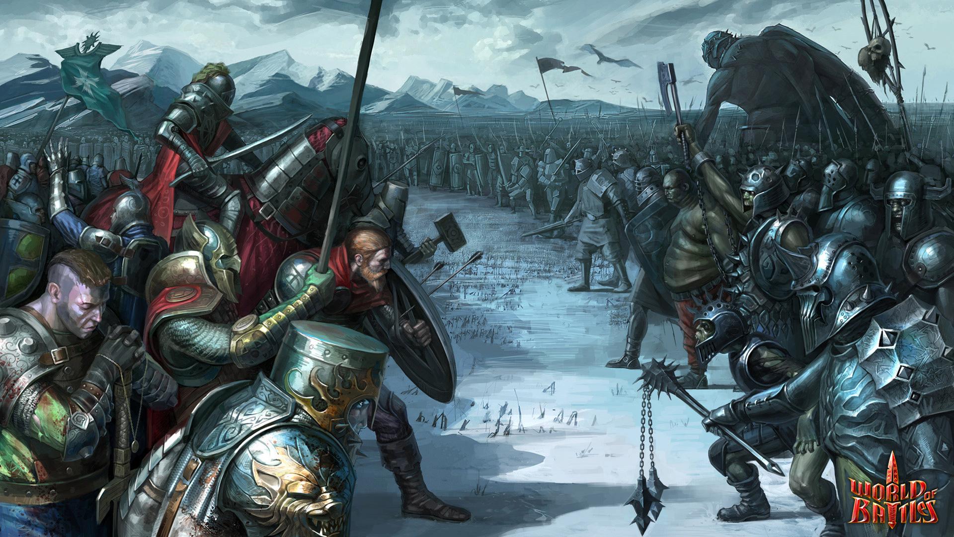 Free World of Battles Wallpaper in 1920x1080