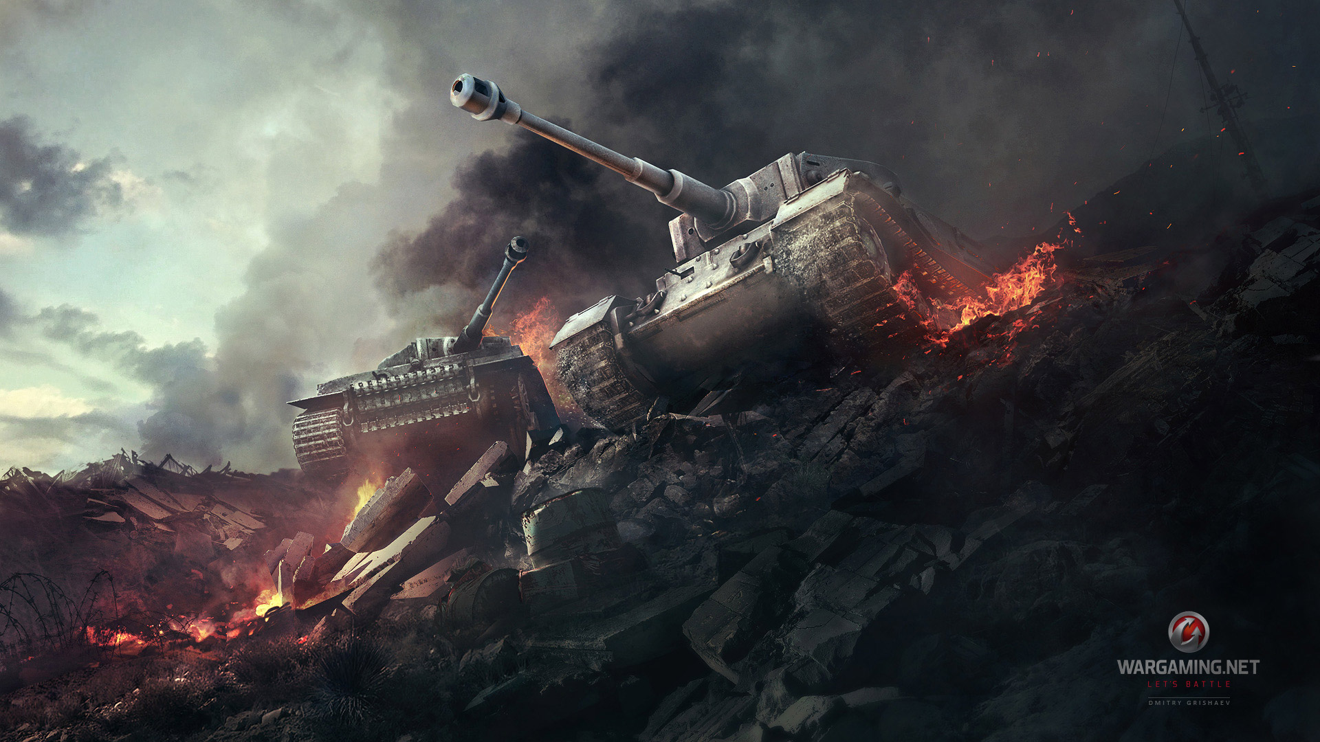 World of Tanks Wallpaper in 1920x1080