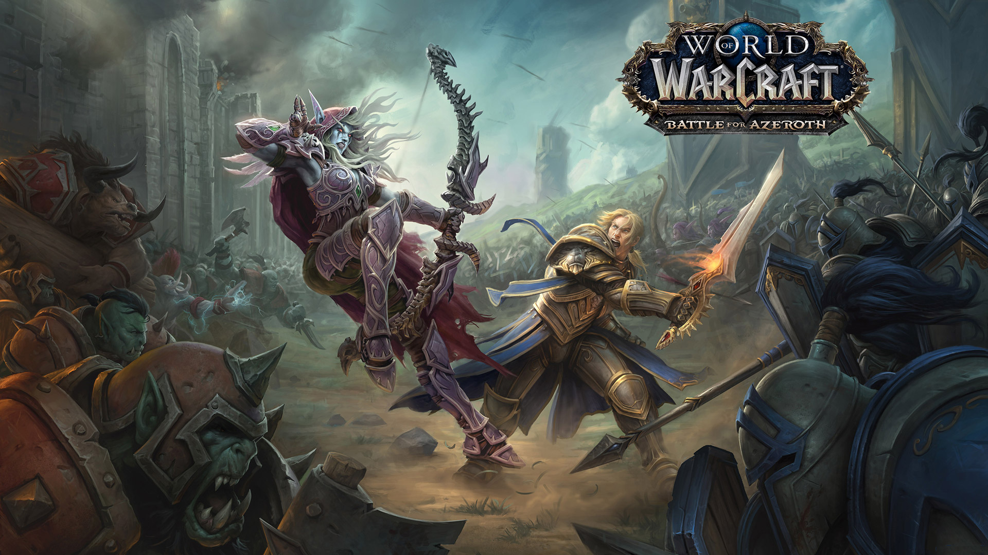 Free World of Warcraft Wallpaper in 1920x1080