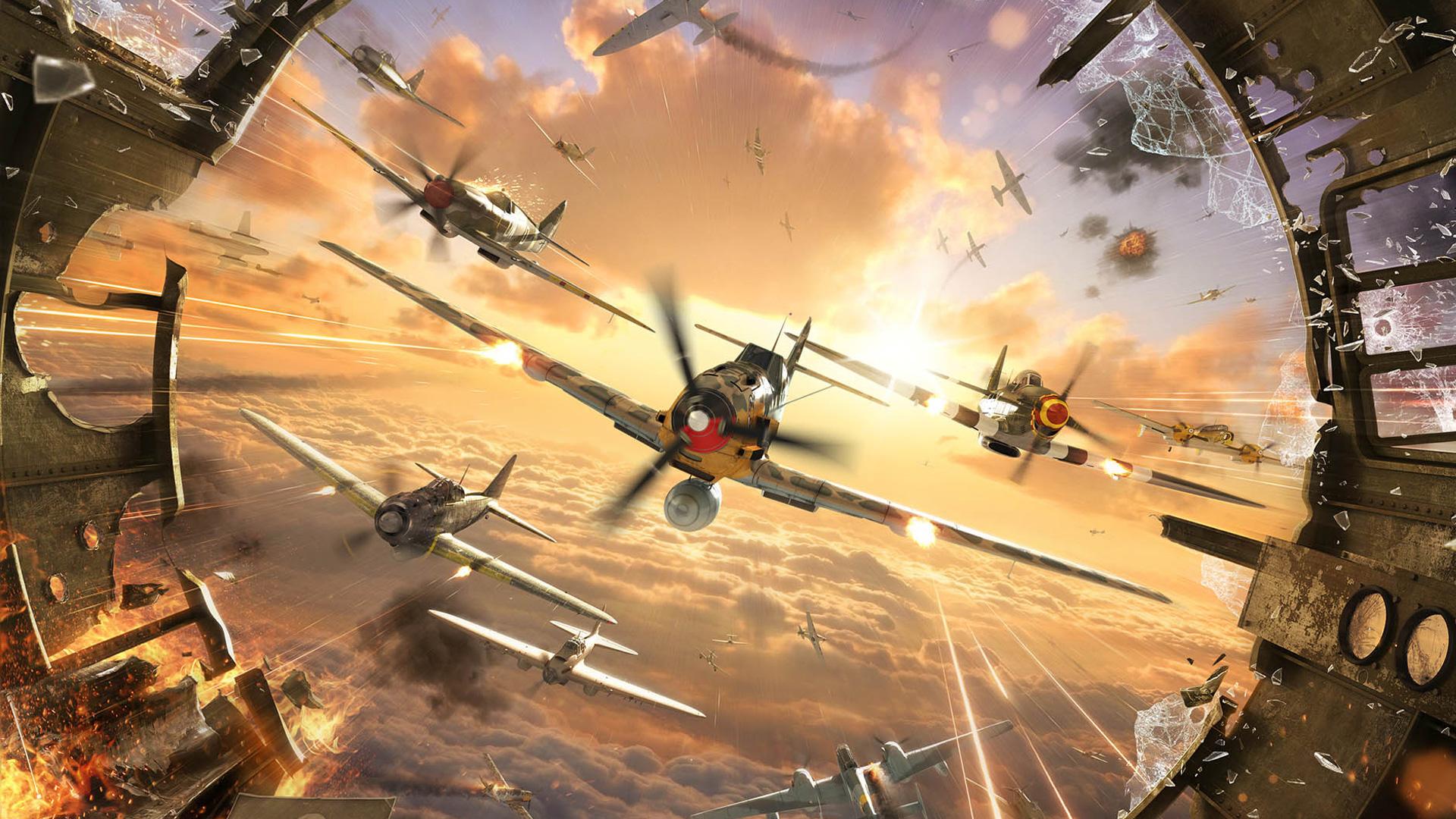 Free World of Warplanes Wallpaper in 1920x1080