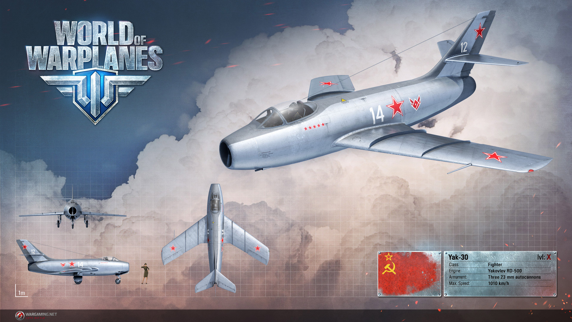 Free World of Warplanes Wallpaper in 1920x1080