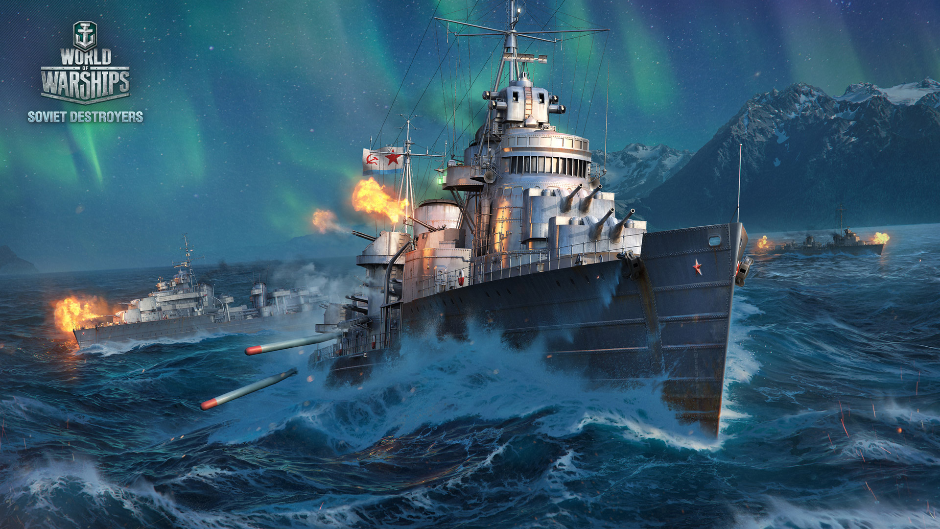 World of Warships Wallpaper in 1920x1080