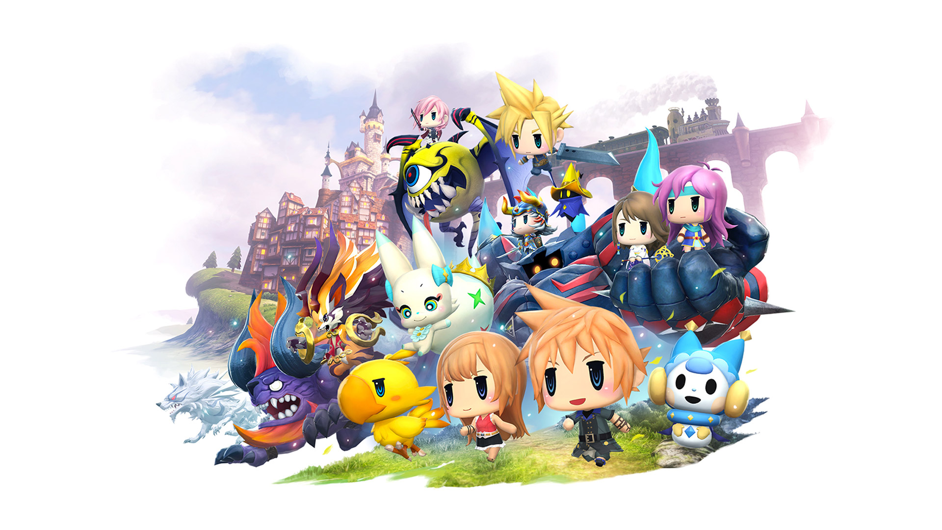 Free World of Final Fantasy Wallpaper in 1920x1080