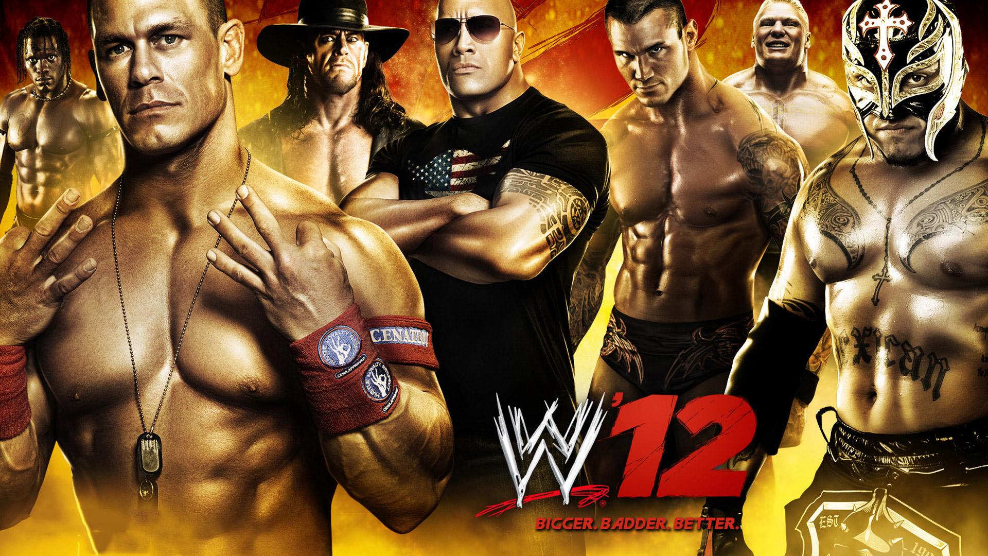 WWE '12 Wallpaper in 1920x1080