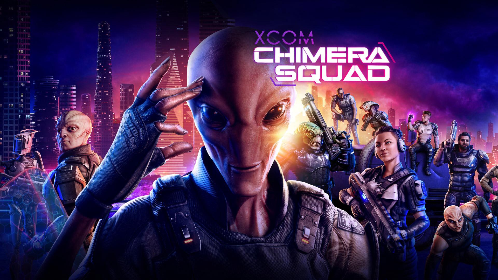 Free XCOM: Chimera Squad Wallpaper in 1920x1080