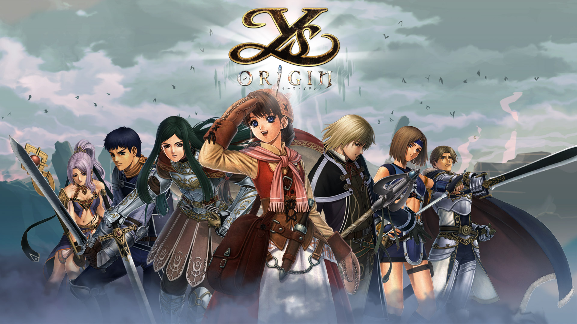 Free Ys Origin Wallpaper in 1920x1080