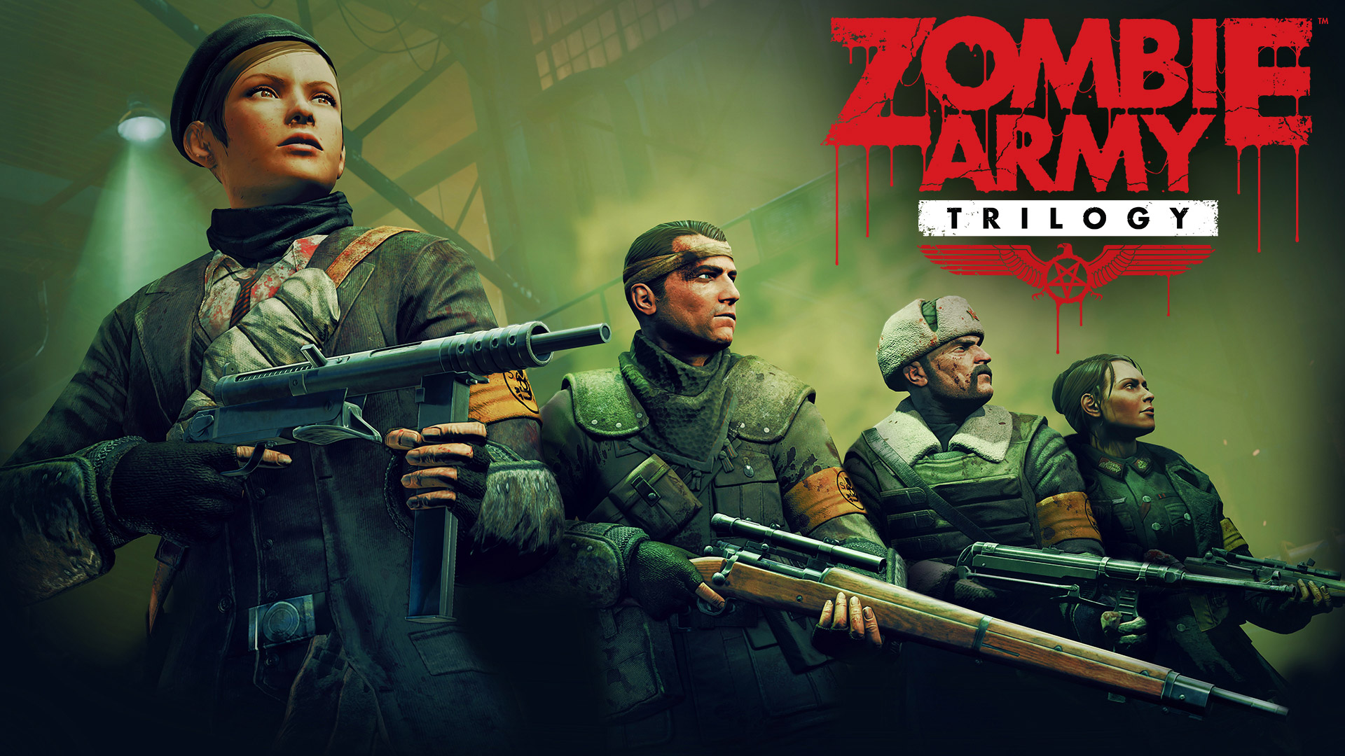Free Zombie Army Trilogy Wallpaper in 1920x1080