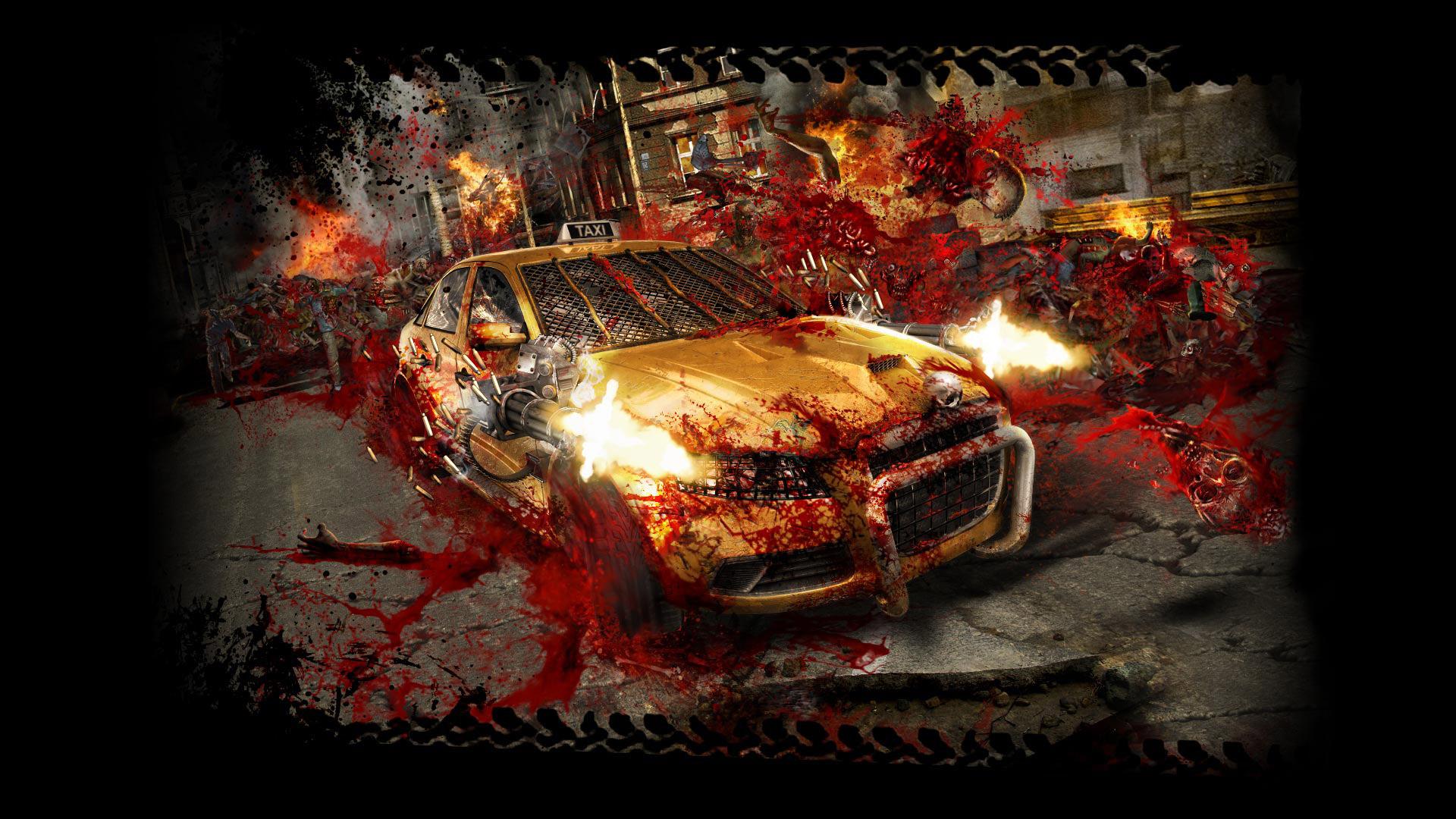 Zombie Driver Wallpaper in 1920x1080