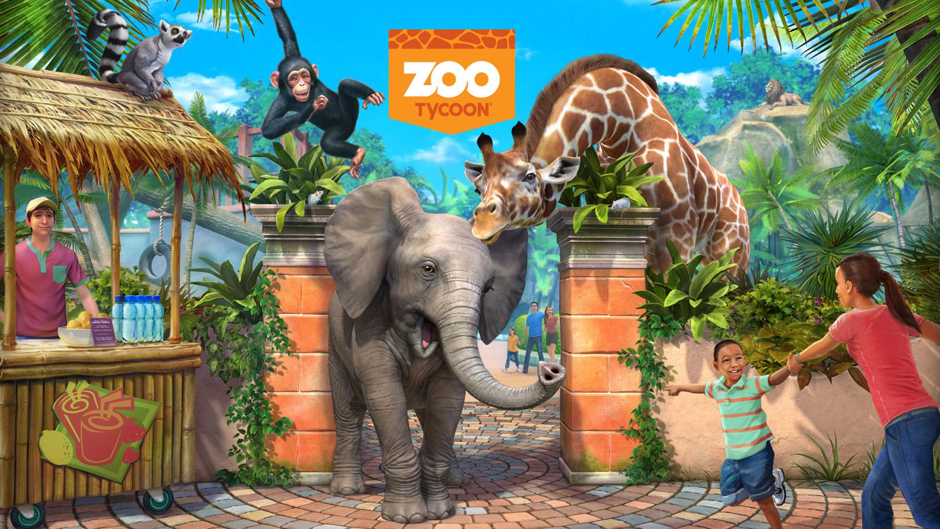 Zoo Tycoon Wallpaper in 1920x1080