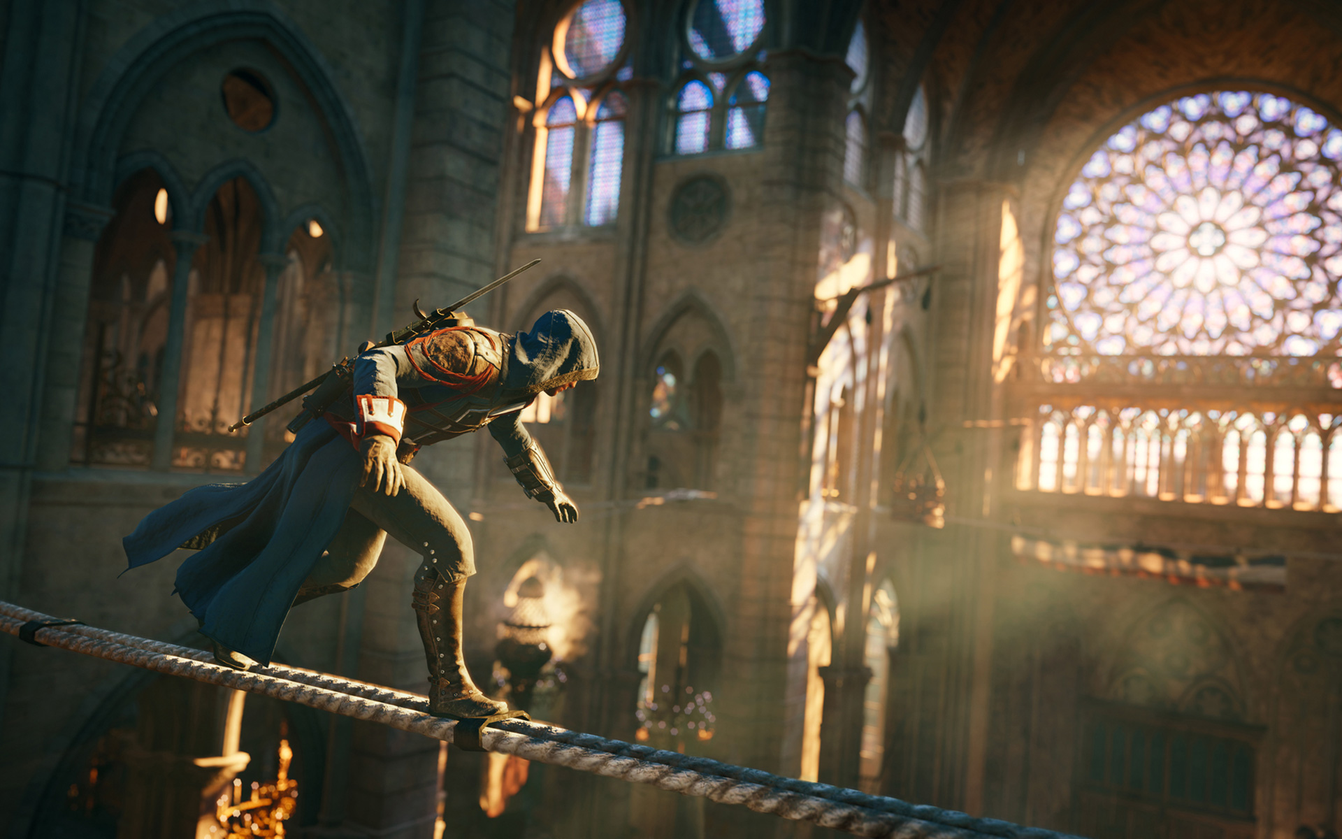 Free Assassin's Creed: Unity Wallpaper in 1920x1200