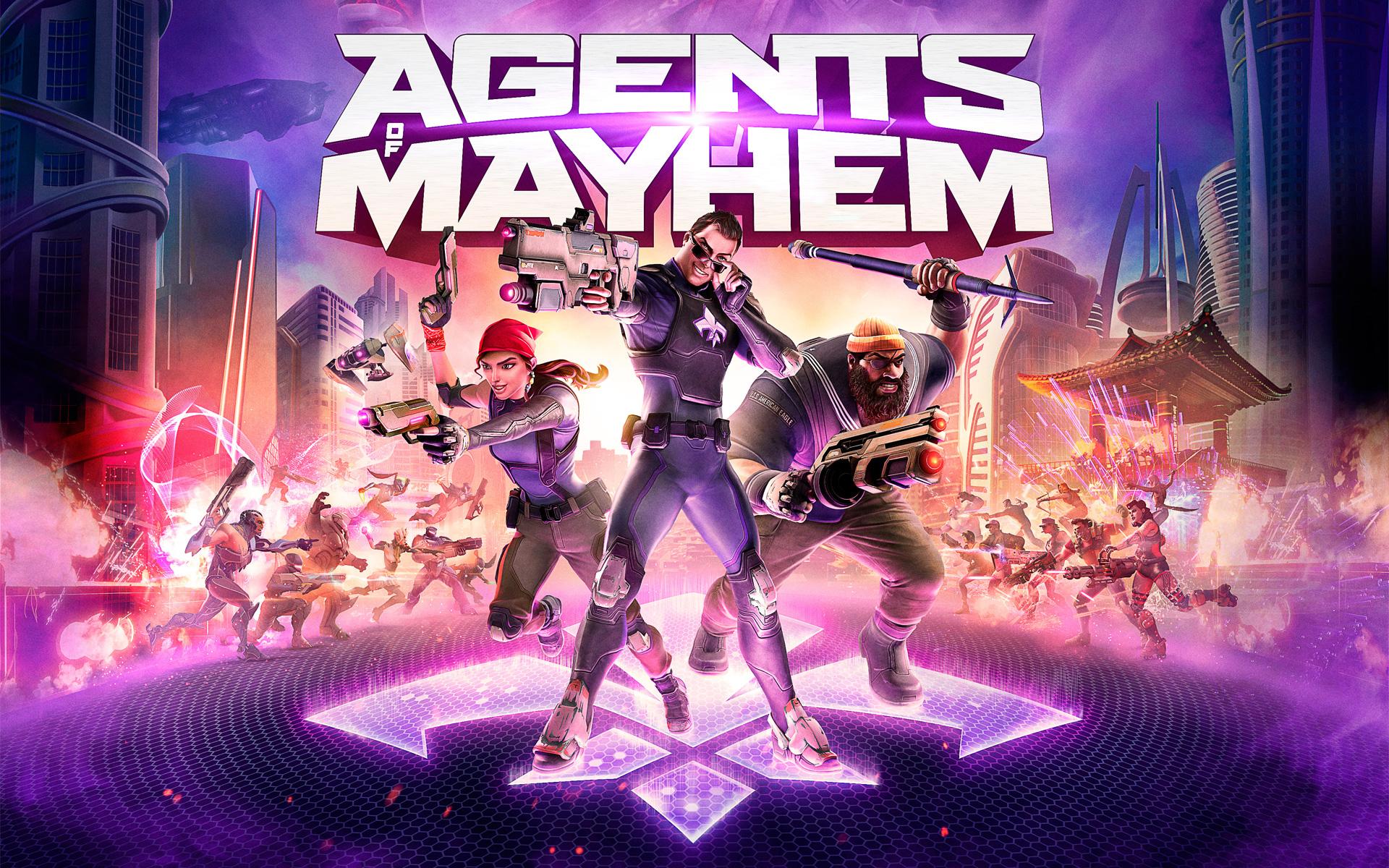 Free Agents of Mayhem Wallpaper in 1920x1200