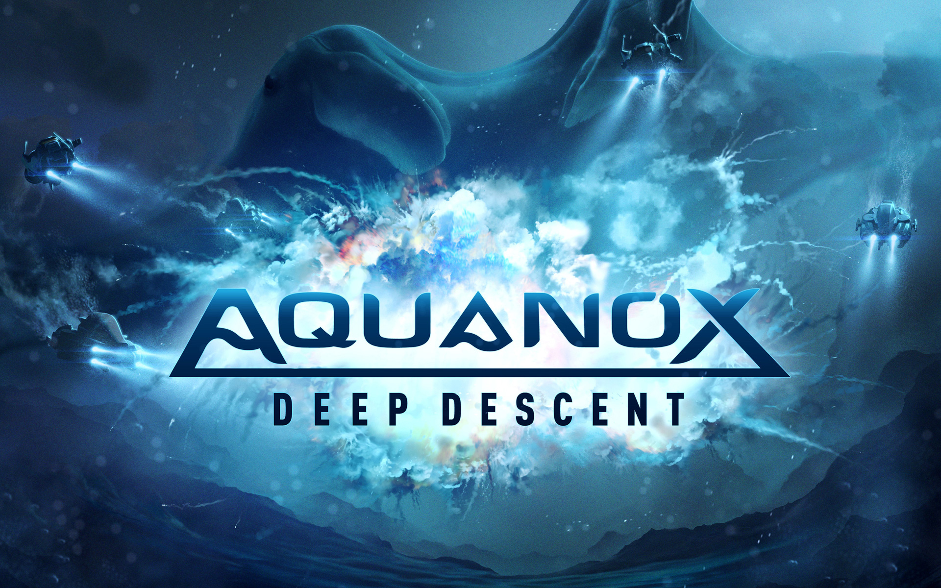Free Aquanox Deep Descent Wallpaper in 1920x1200