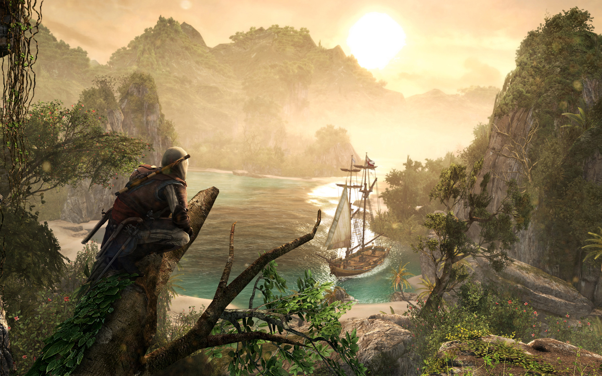 Free Assassin's Creed IV: Black Flag Wallpaper in 1920x1200