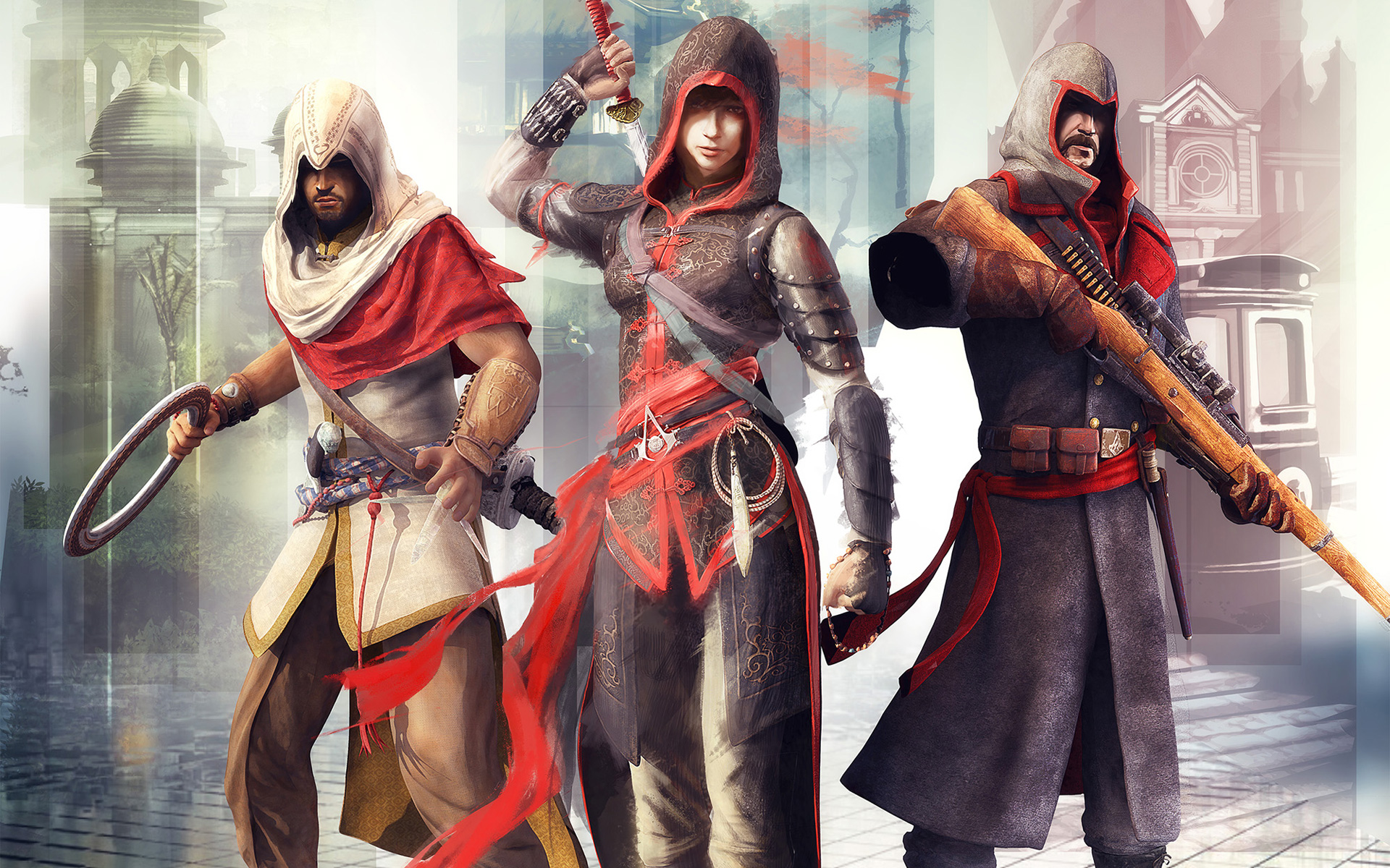 Free Assassin's Creed Chronicles: China Wallpaper in 1920x1200