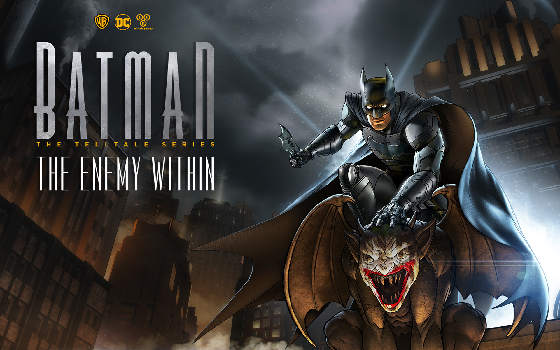Batman: The Enemy Within - The Telltale Series Wallpaper in 1920x1200