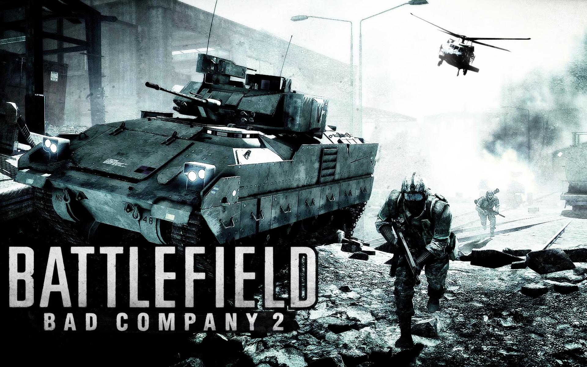 Battlefield: Bad Company 2 Wallpaper in 1920x1200