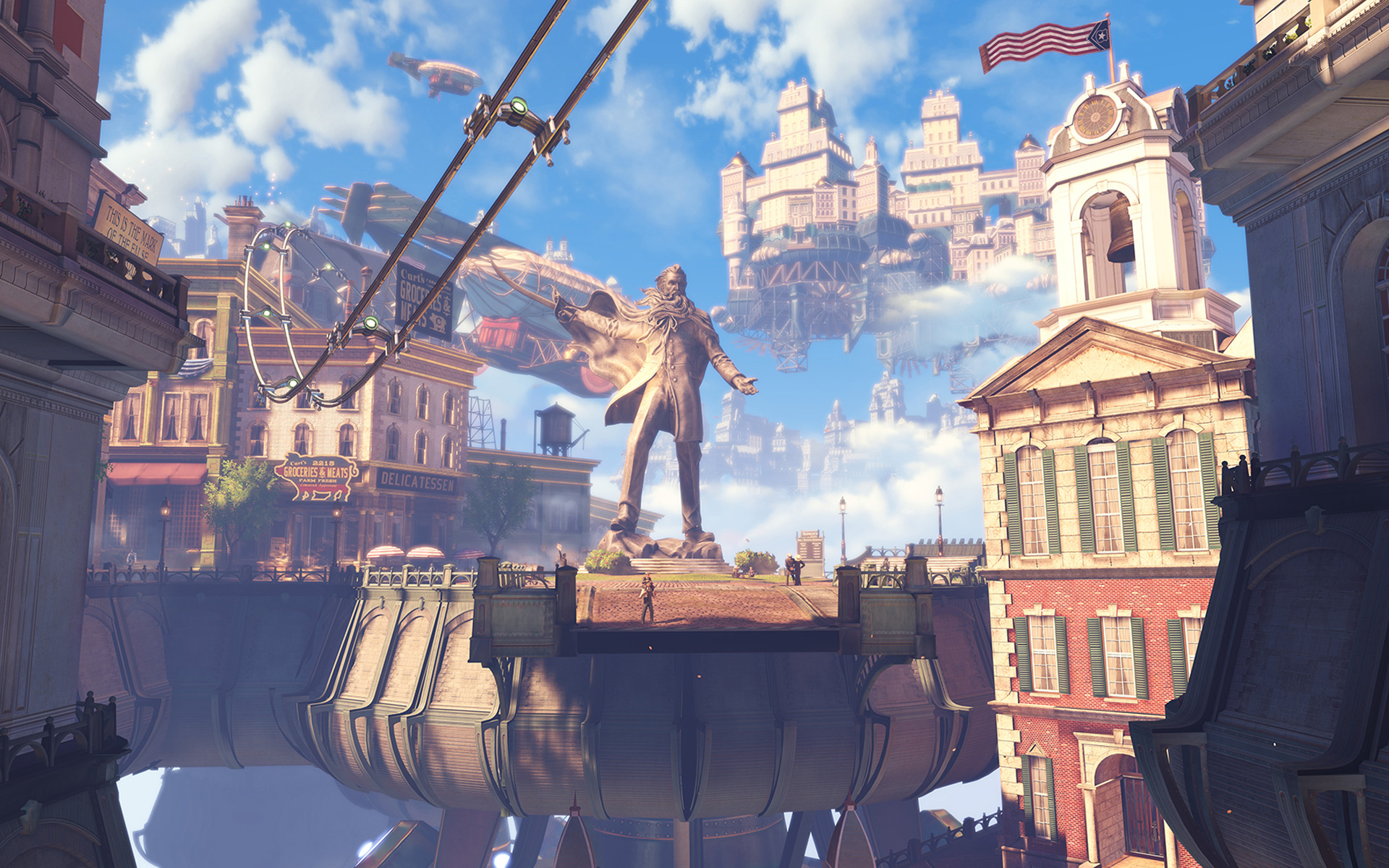 Bioshock Infinite Wallpaper in 1920x1200