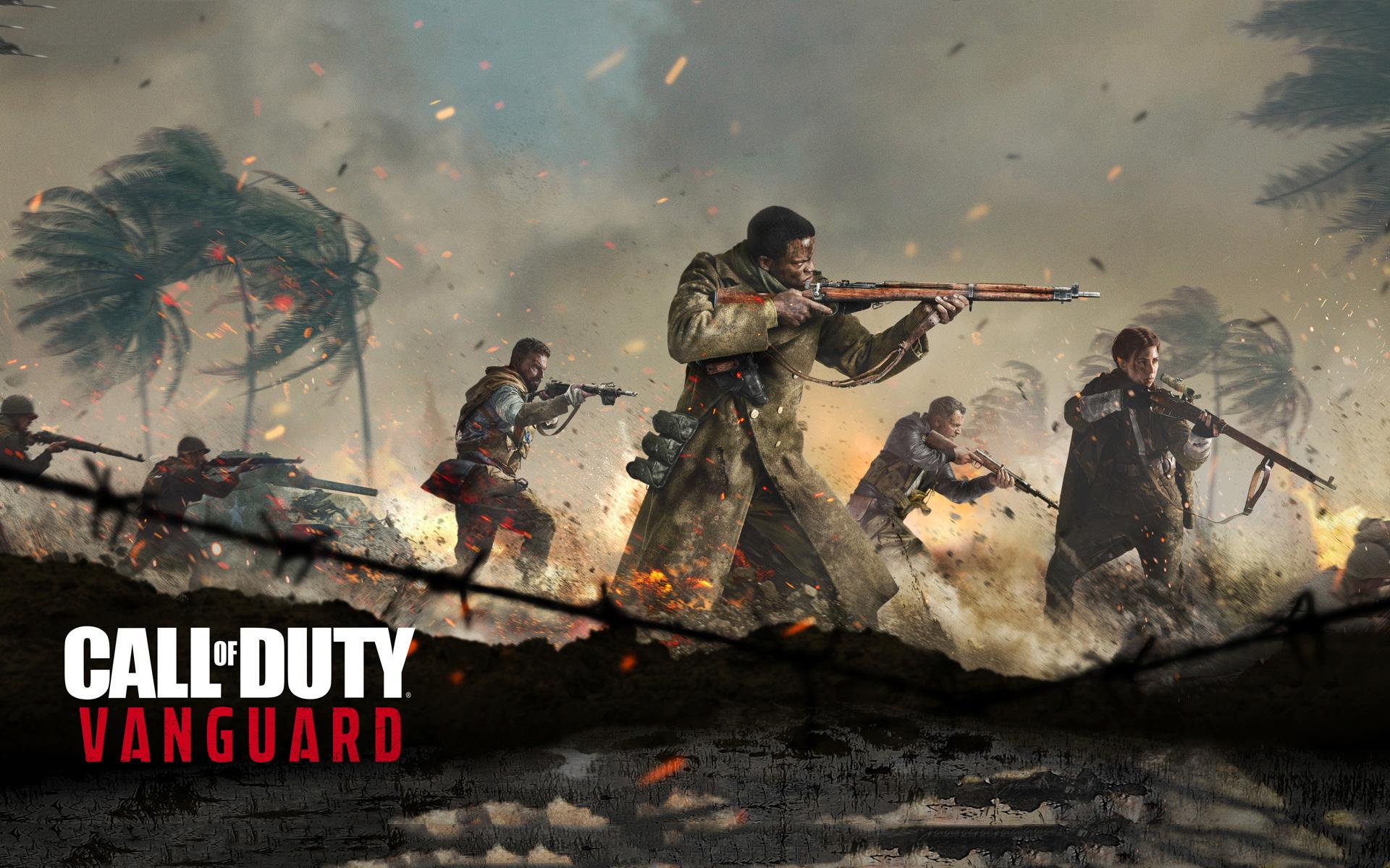 Free Call of Duty: Vanguard Wallpaper in 1920x1200