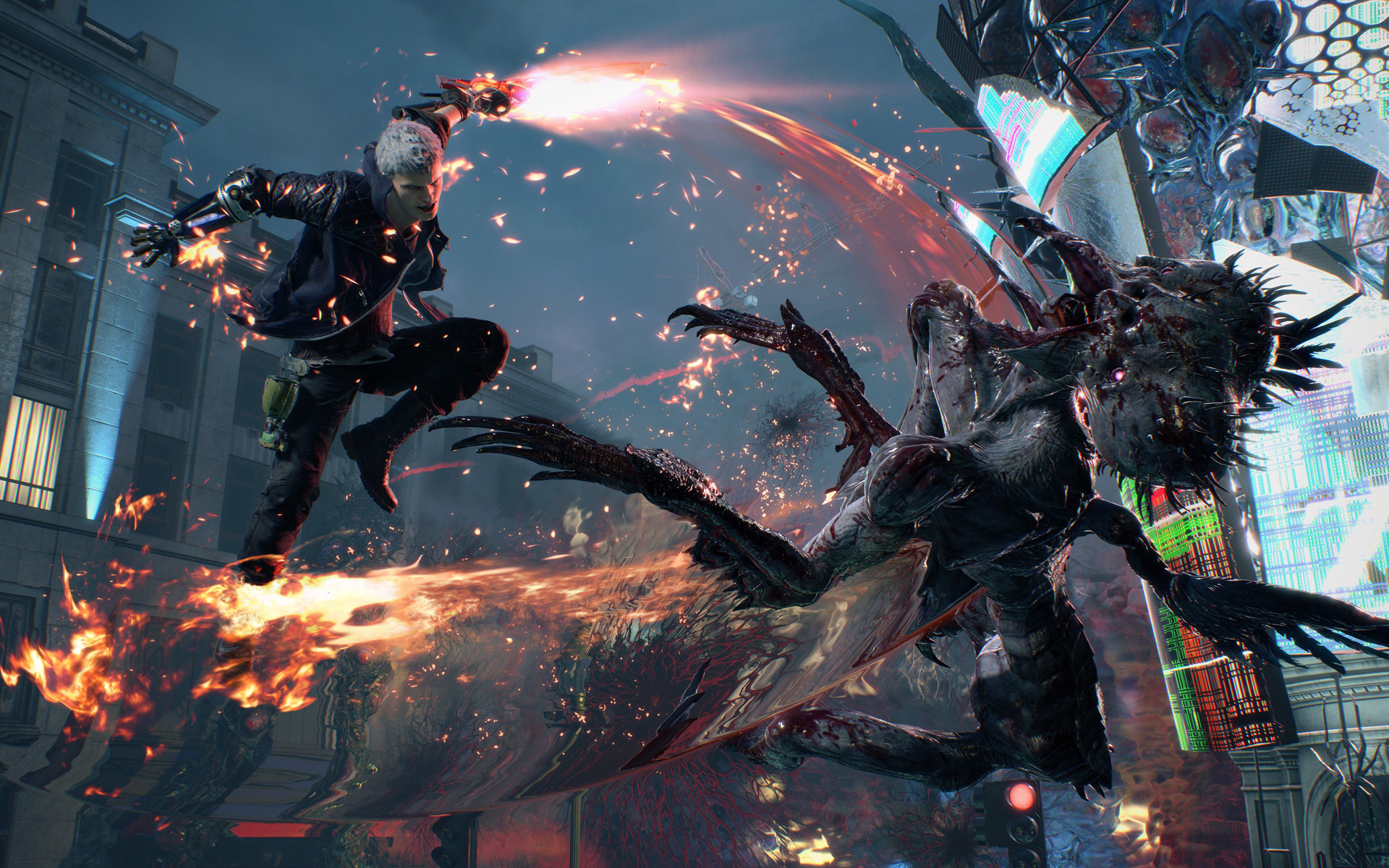 Free Devil May Cry 5 Wallpaper in 1920x1200