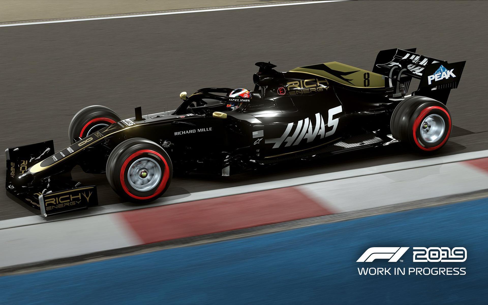 F1 2019 Wallpaper in 1920x1200