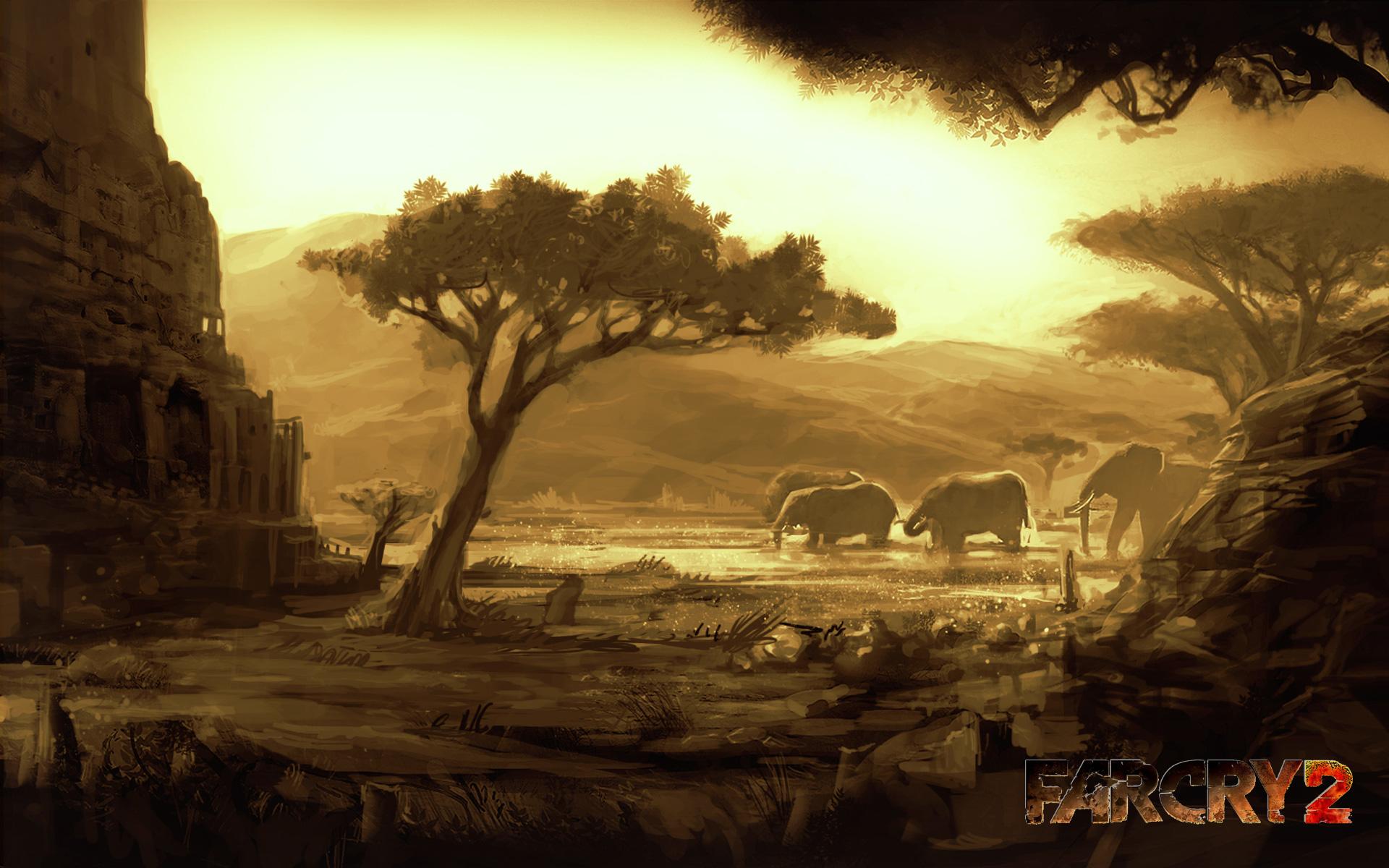 Far Cry 2 Wallpaper in 1920x1200