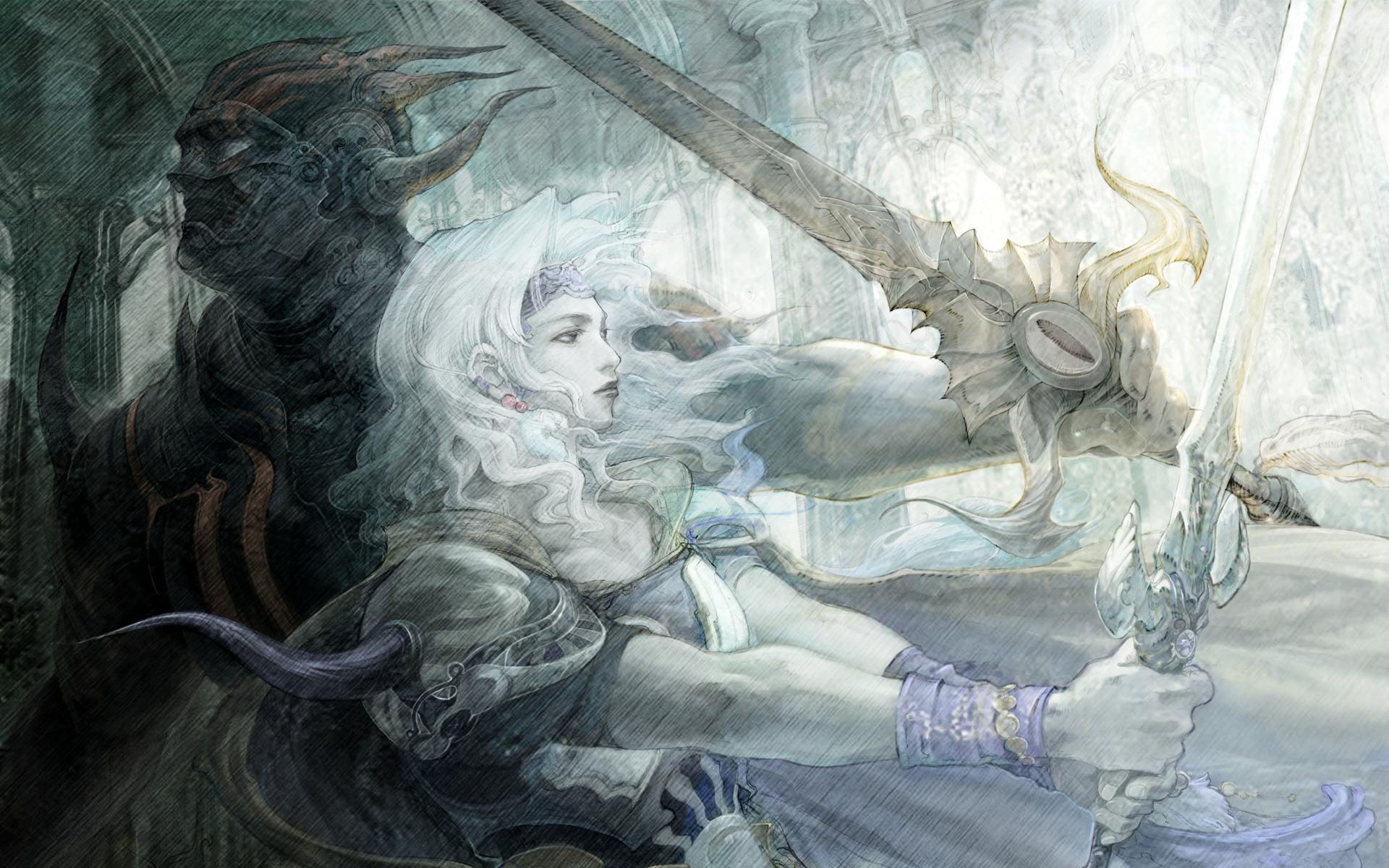 Free Final Fantasy IV Wallpaper in 1920x1200