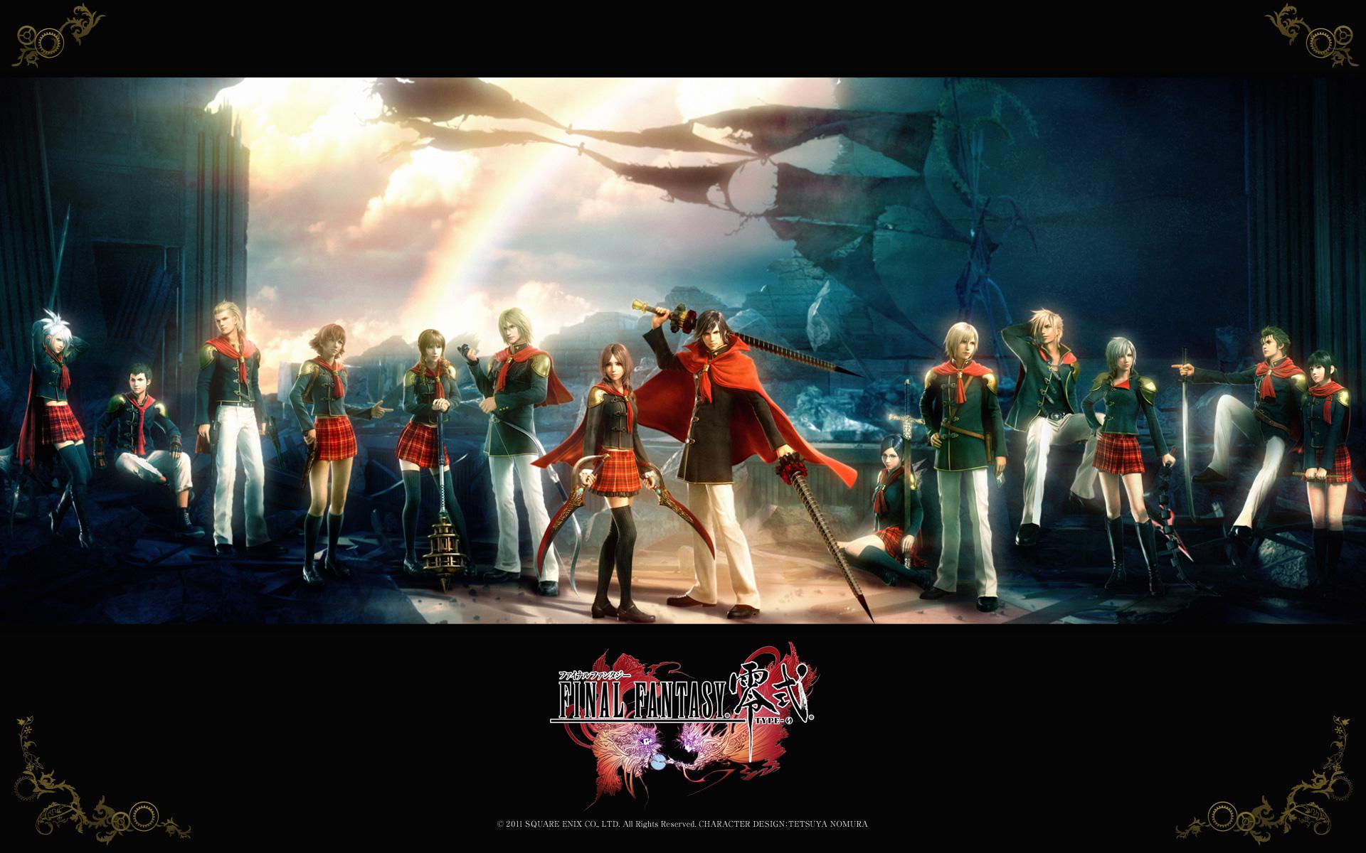 Free Final Fantasy Type-0 Wallpaper in 1920x1200